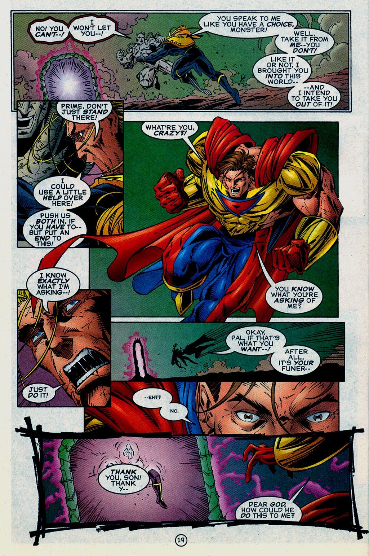 Read online UltraForce (1995) comic -  Issue #15 - 20