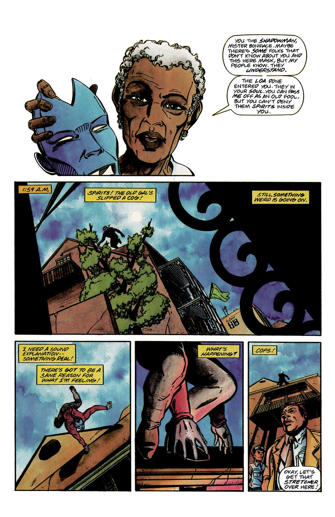 Read online Shadowman (1992) comic -  Issue #2 - 11