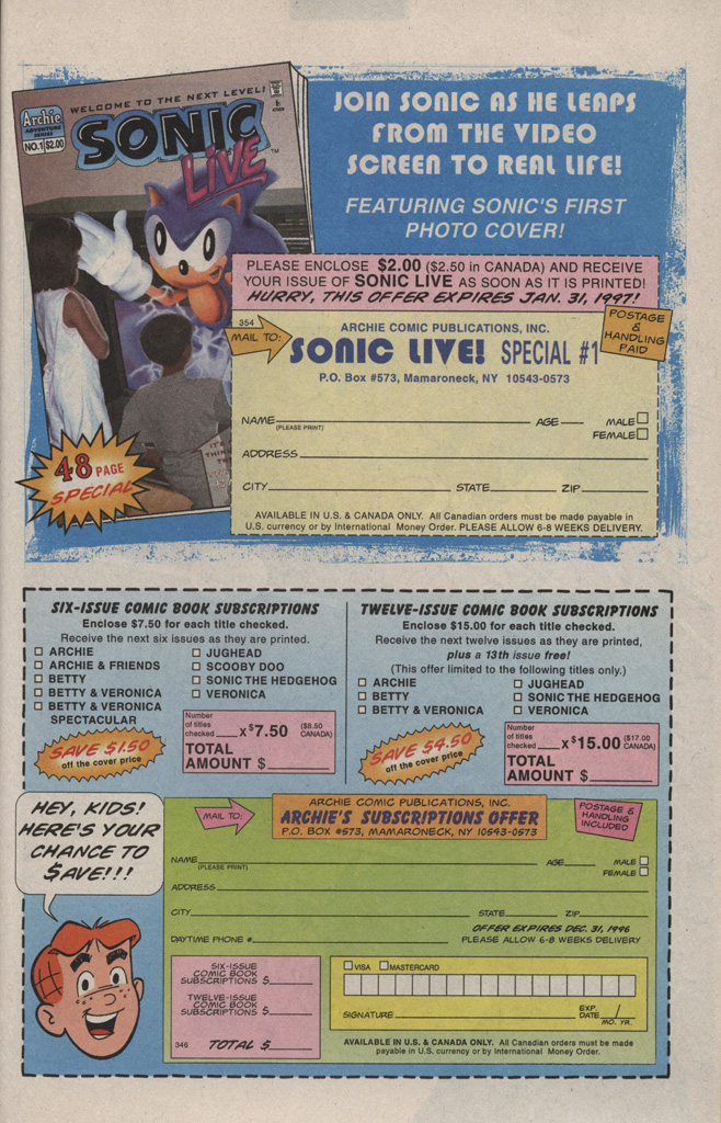 Read online Sonic Quest - The Death Egg Saga comic -  Issue #1 - 23