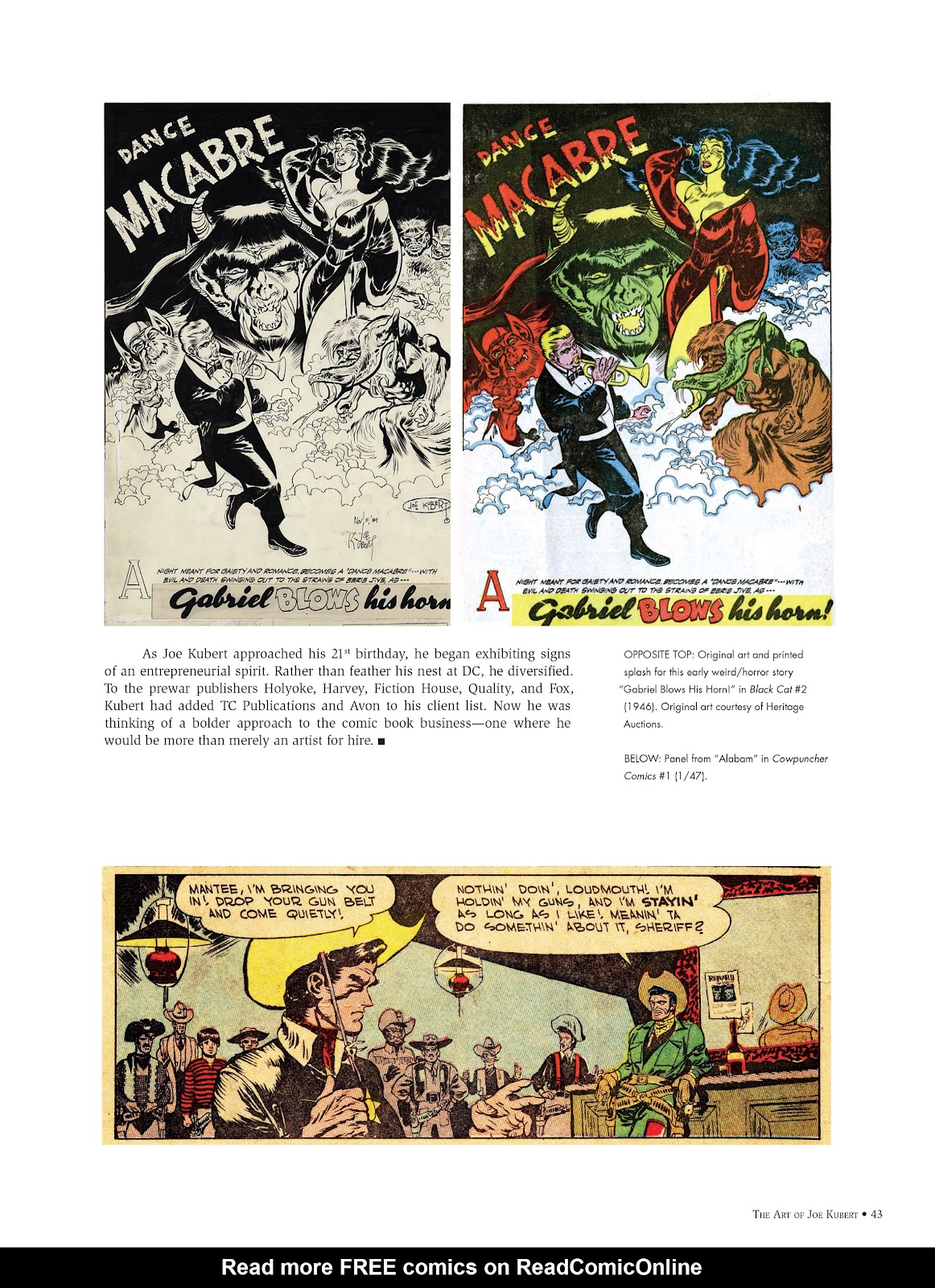 Read online The Art of Joe Kubert comic -  Issue # TPB (Part 1) - 42