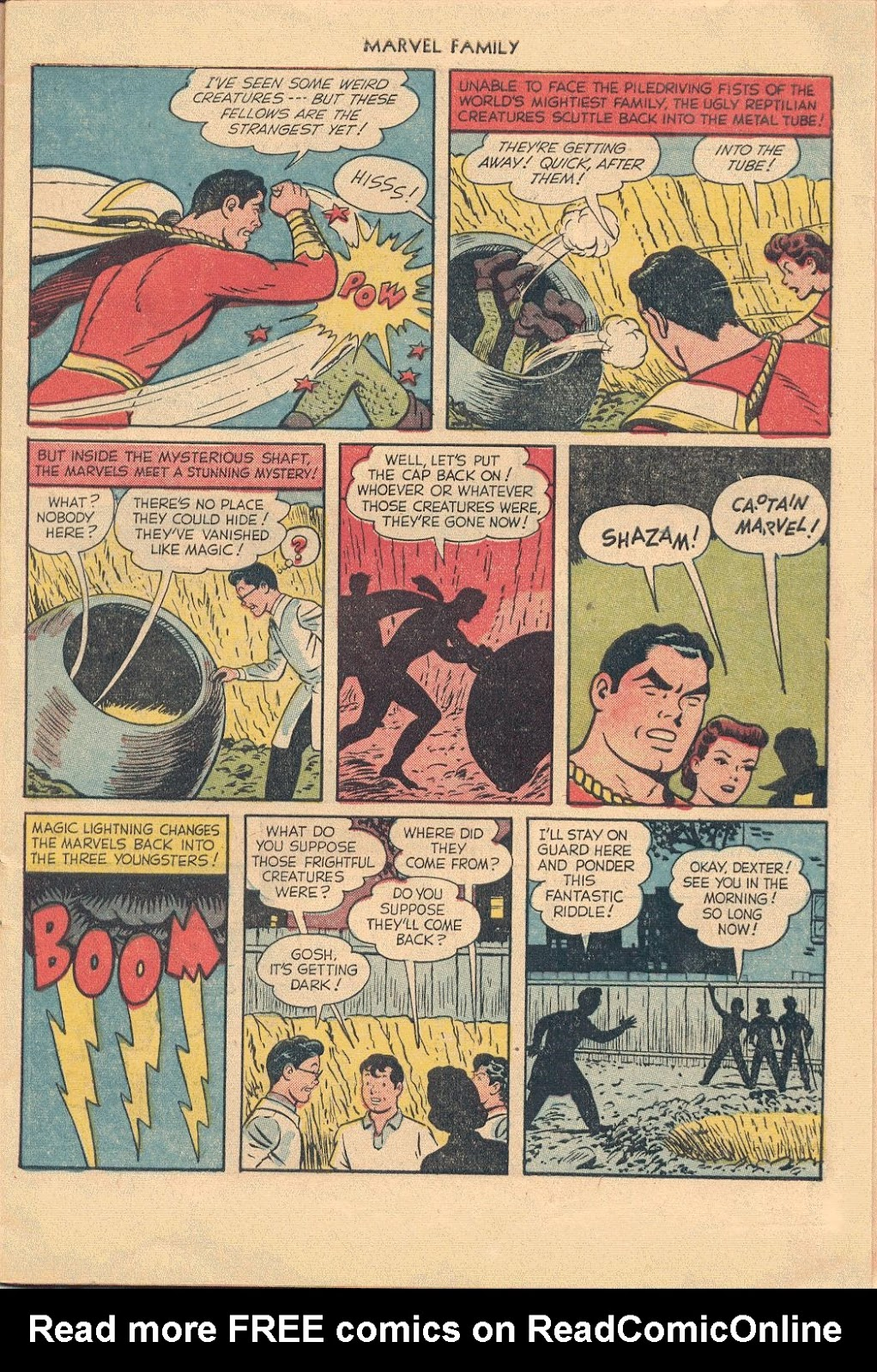 The Marvel Family issue 74 - Page 7