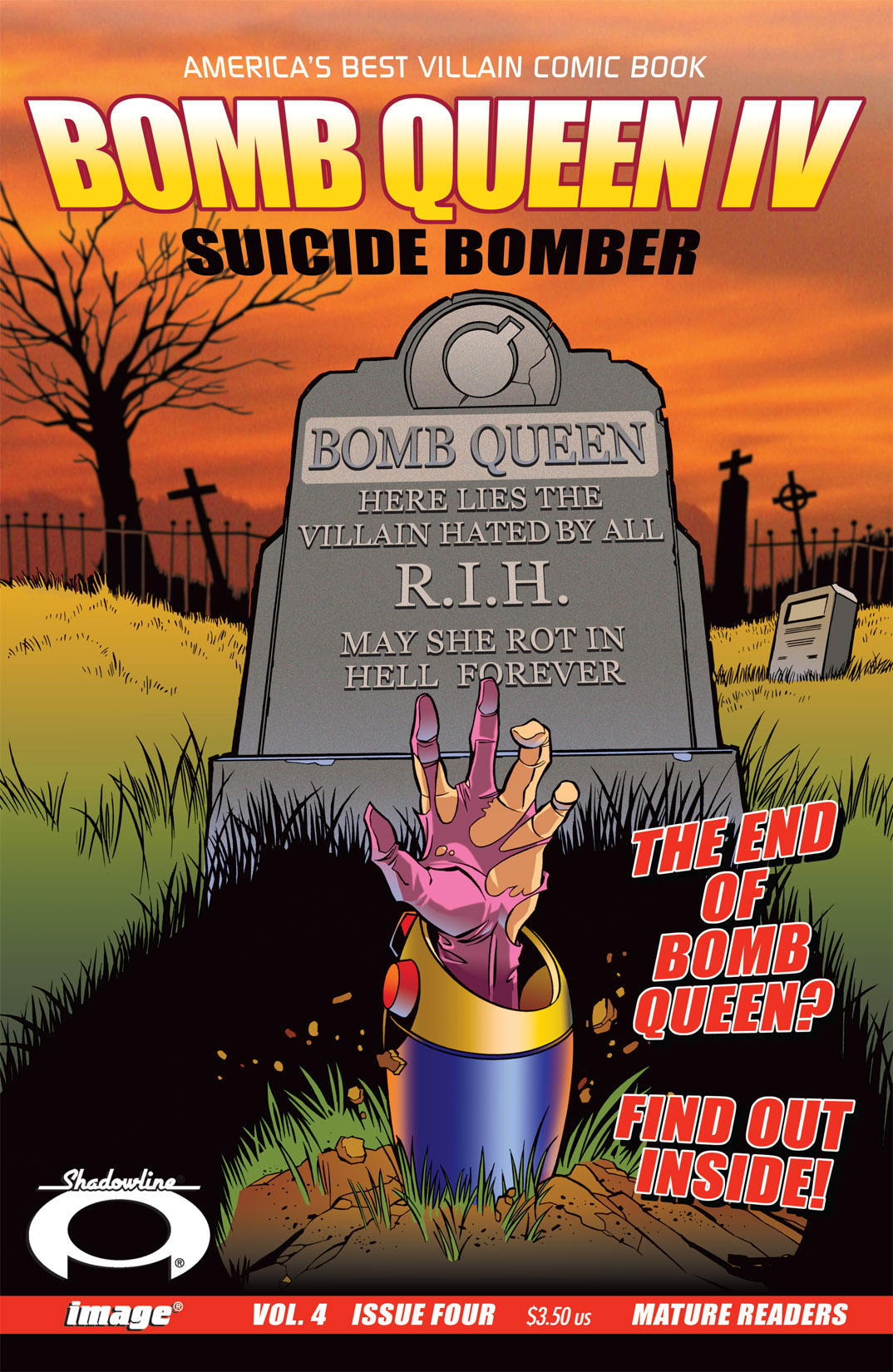 Bomb Queen IV Suicide Bomber Issue 4
