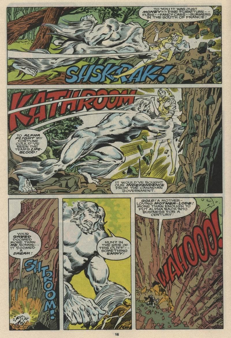 Read online Alpha Flight (1983) comic -  Issue #66 - 17