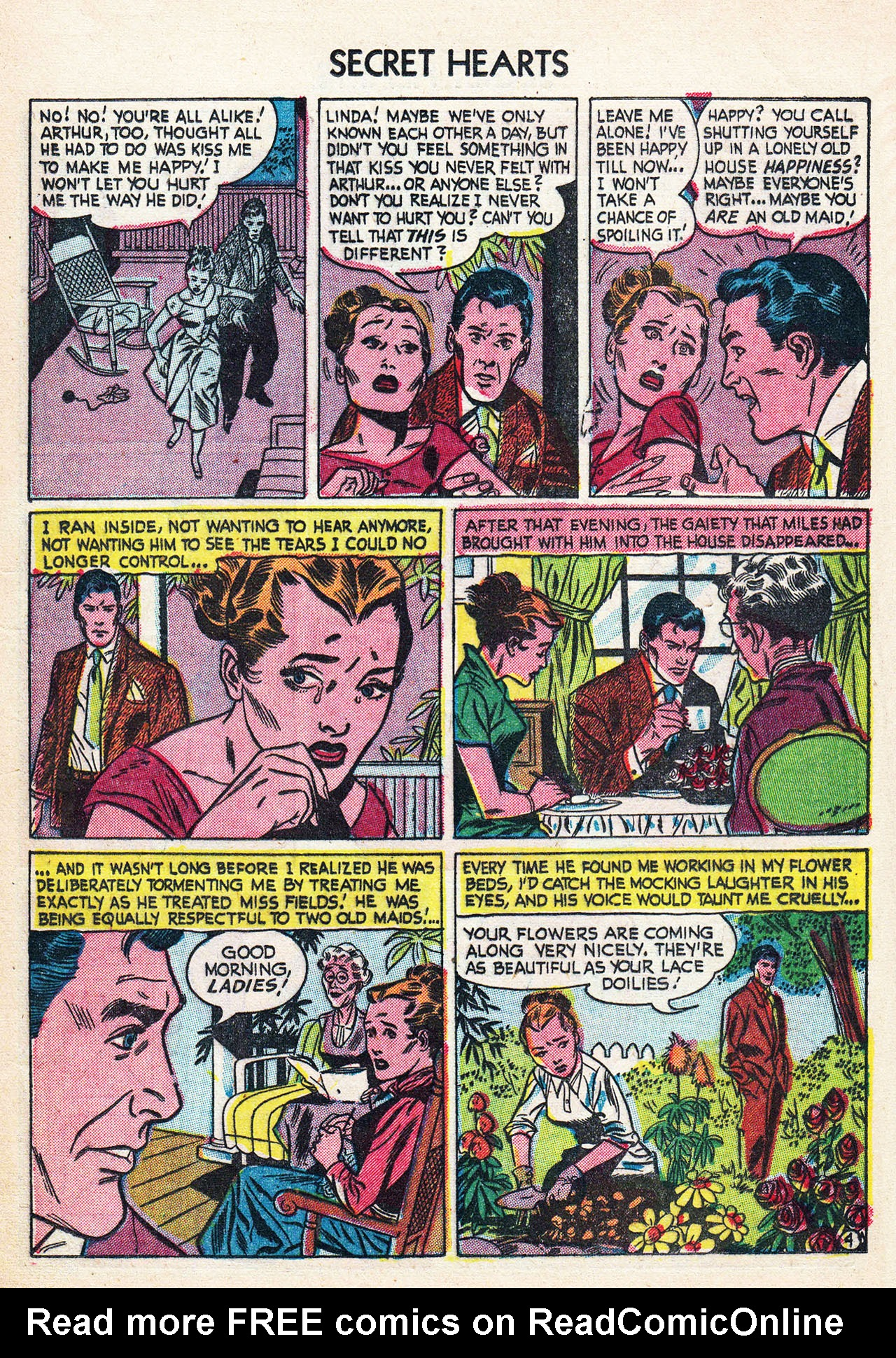 Read online Secret Hearts comic -  Issue #24 - 21