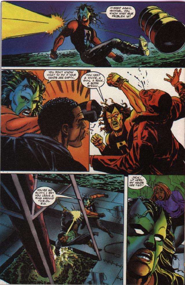 Read online Shadowman (1992) comic -  Issue #36 - 20