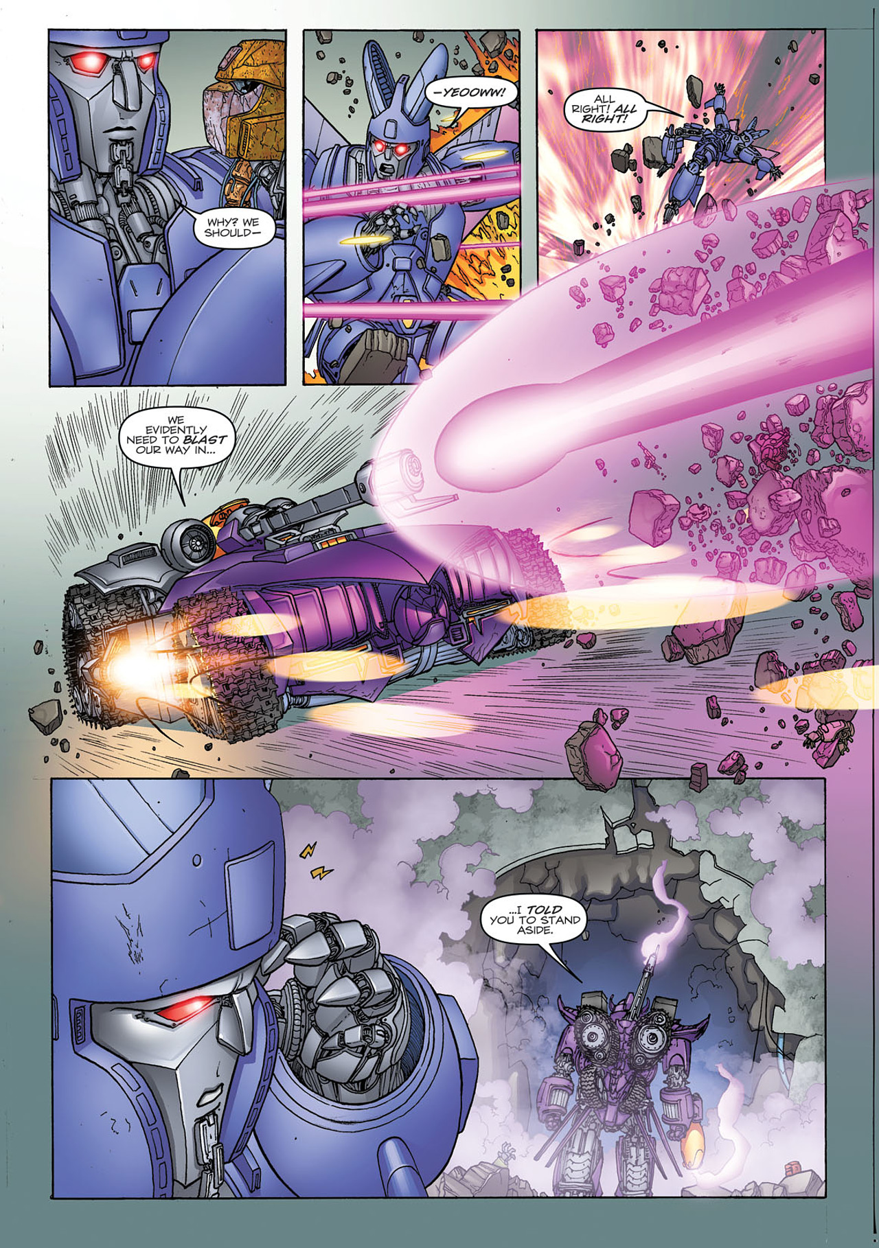 Read online Transformers: Heart of Darkness comic -  Issue #1 - 16
