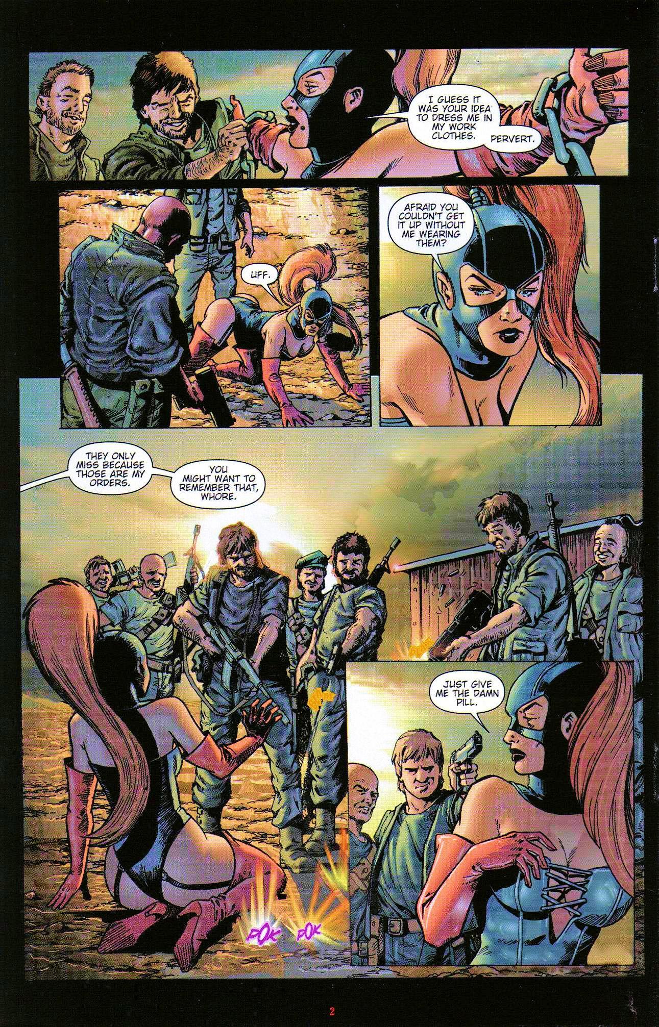 Read online Dominatrix comic -  Issue #3 - 4