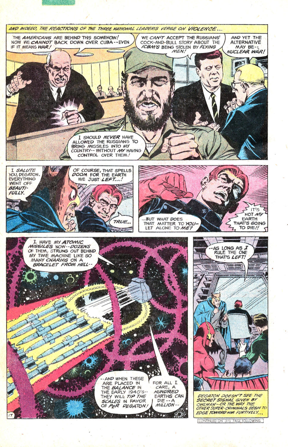 Read online All-Star Squadron comic -  Issue #14 - 21