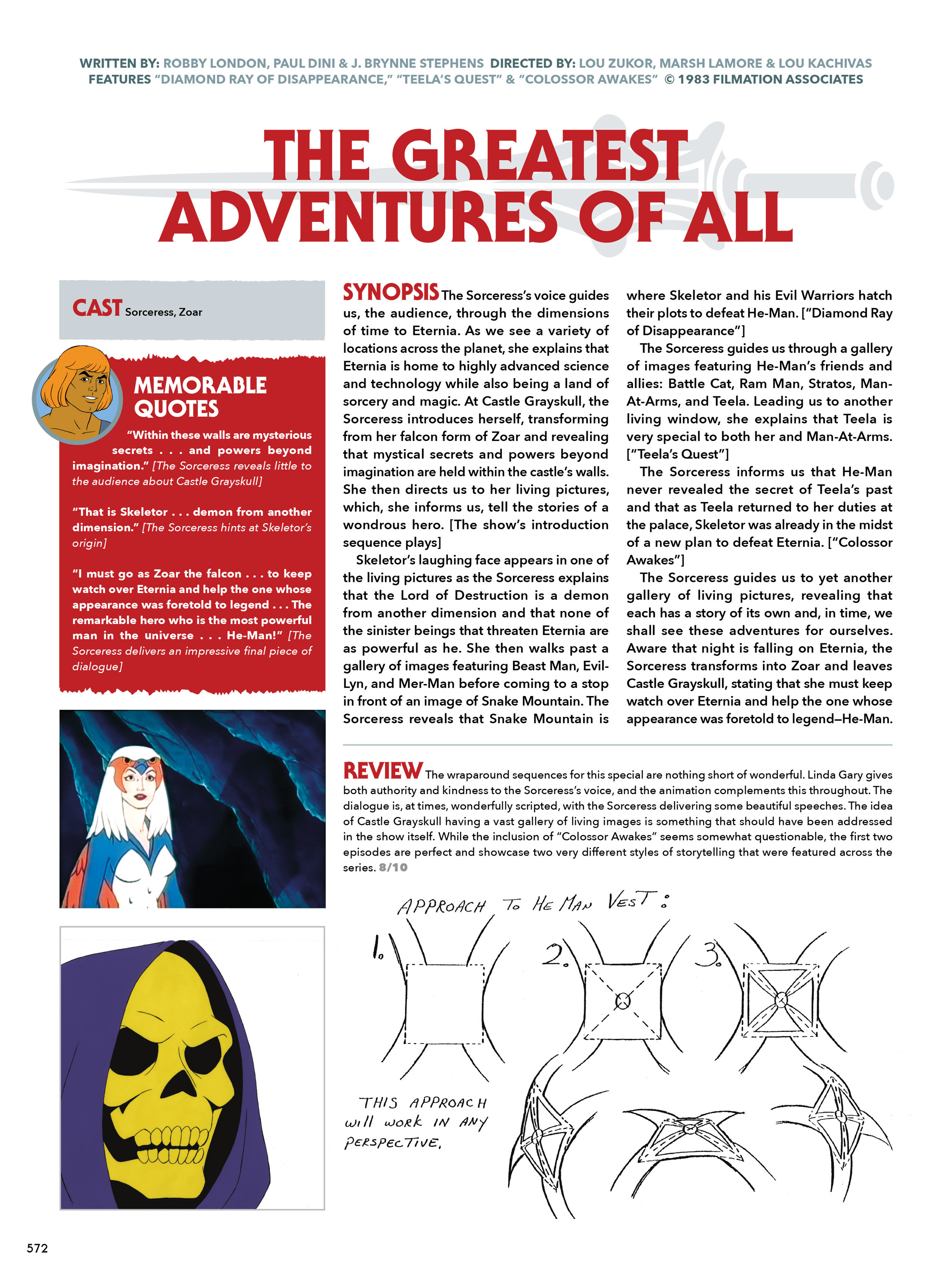 Read online He-Man and She-Ra: A Complete Guide to the Classic Animated Adventures comic -  Issue # TPB (Part 3) - 172