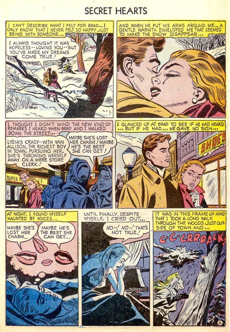 Read online Secret Hearts comic -  Issue #26 - 31