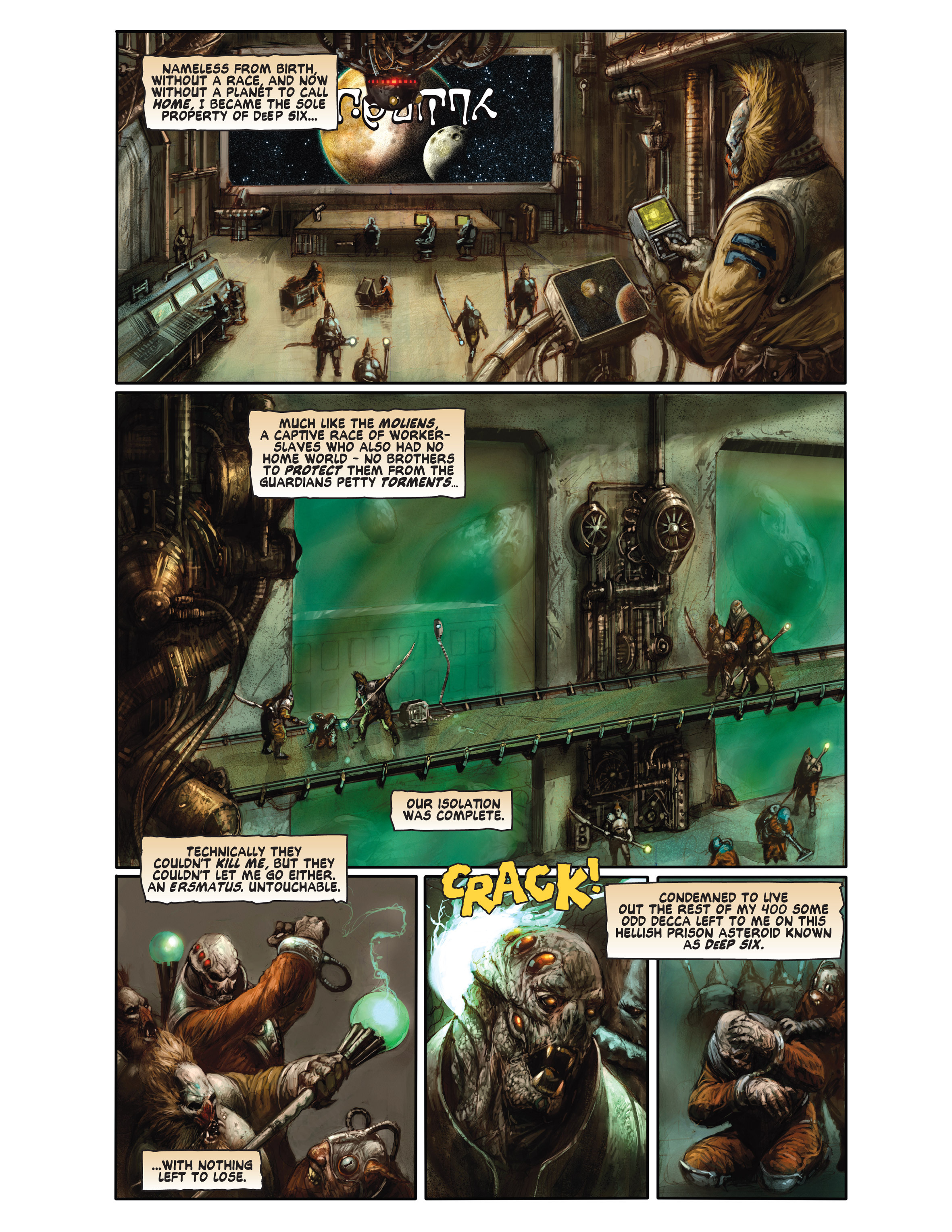 Read online Bad Planet comic -  Issue # TPB - 106