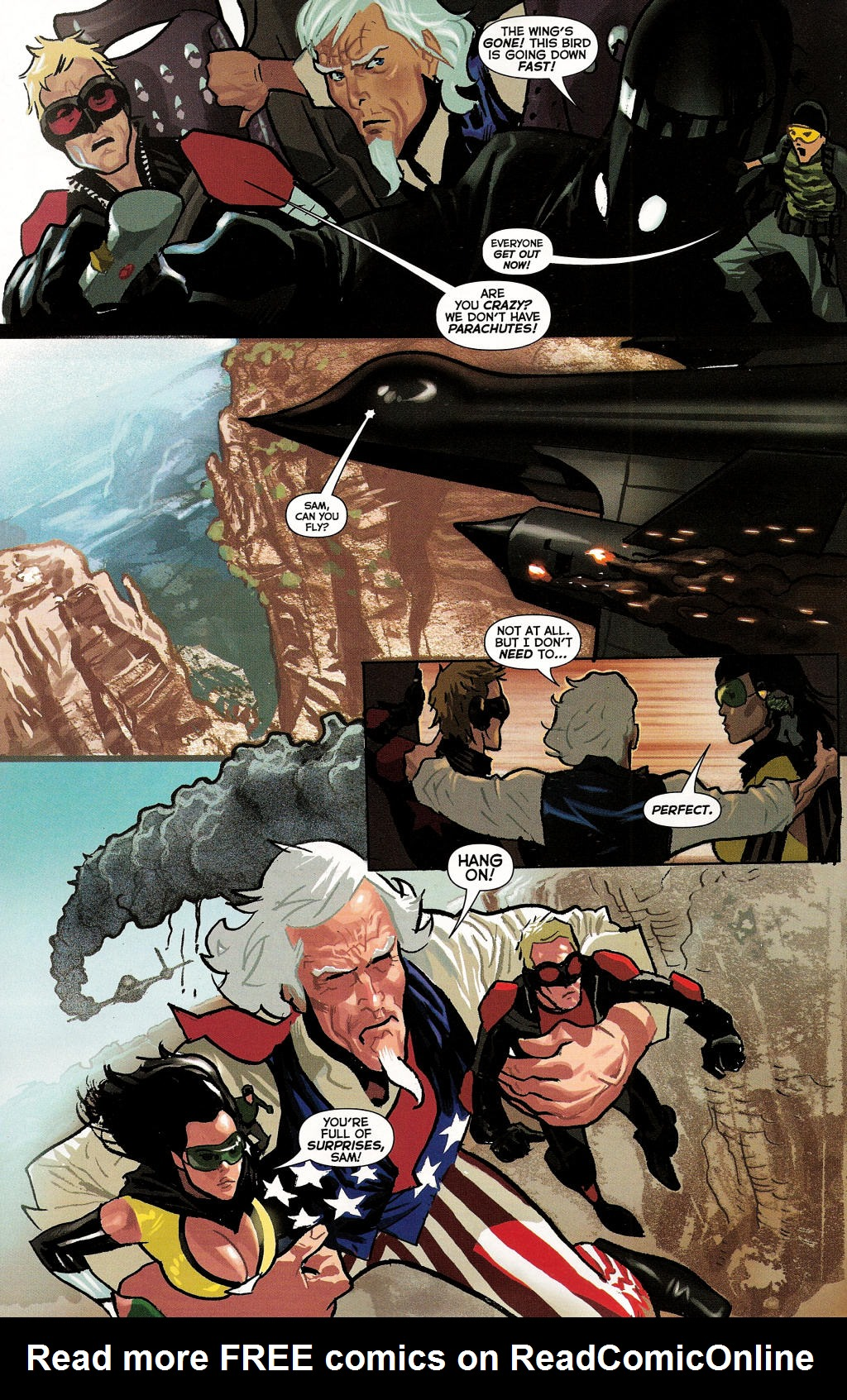 Read online Uncle Sam and the Freedom Fighters (2006) comic -  Issue #3 - 15