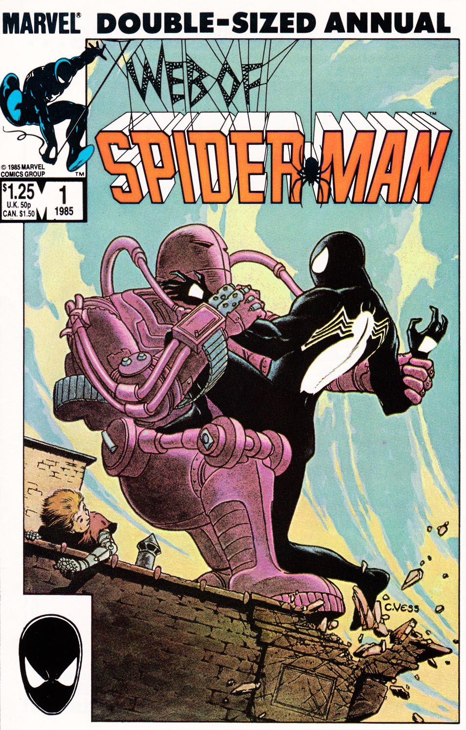 Web of Spider-Man (1985) _Annual 1 #1 - English 1