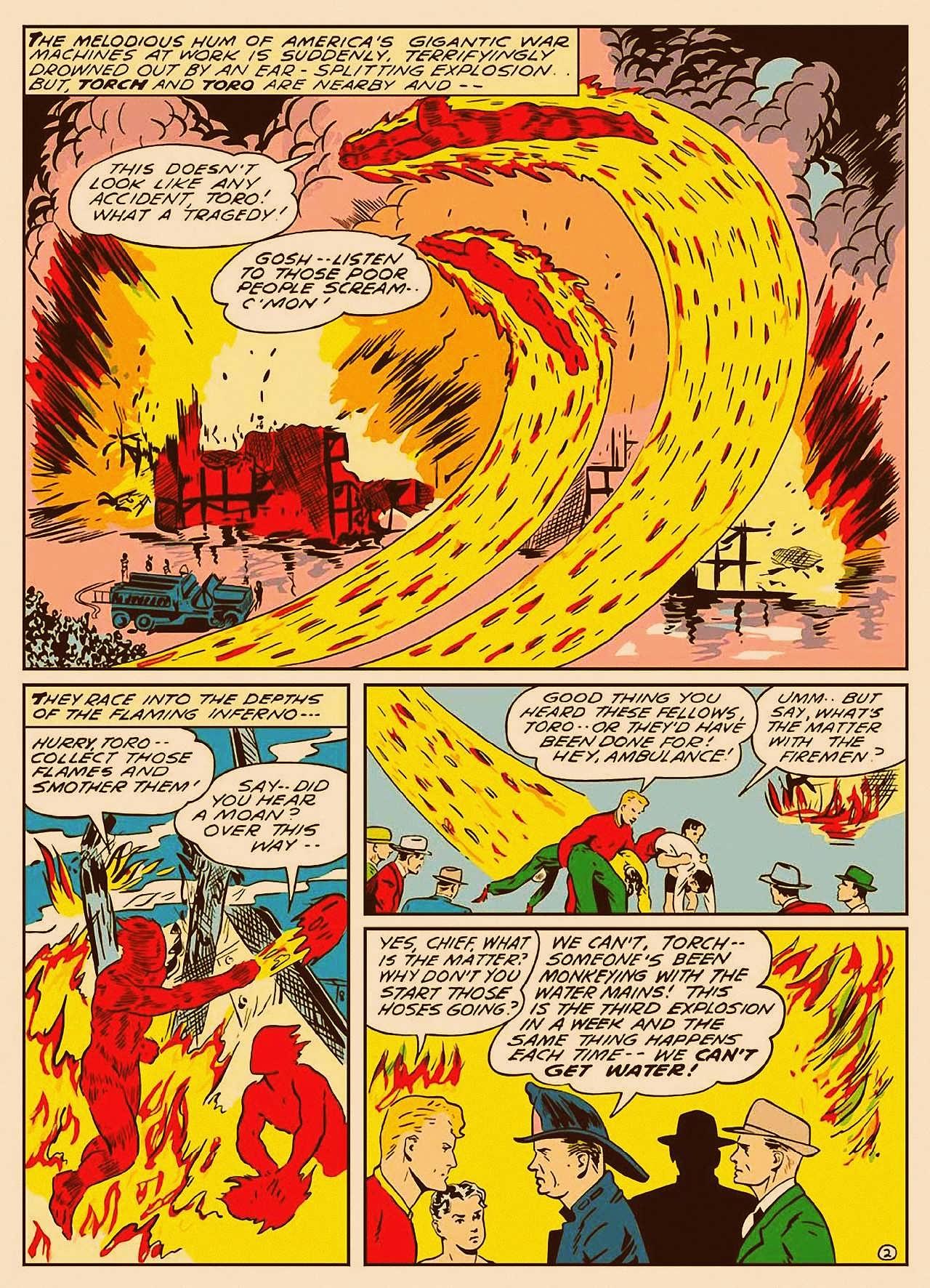 Read online All-Winners Comics comic -  Issue #9 - 3