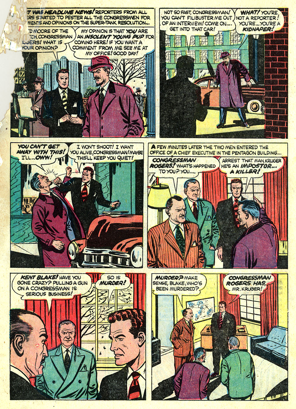 Kent Blake of the Secret Service issue 1 - Page 5