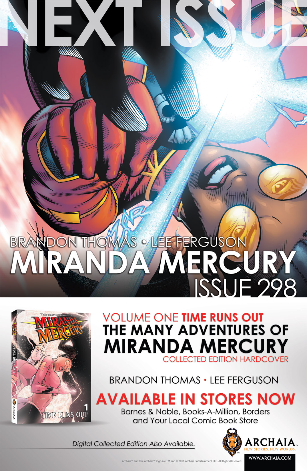 Read online The Many Adventures of Miranda Mercury: Time Runs Out comic -  Issue # TPB - 92