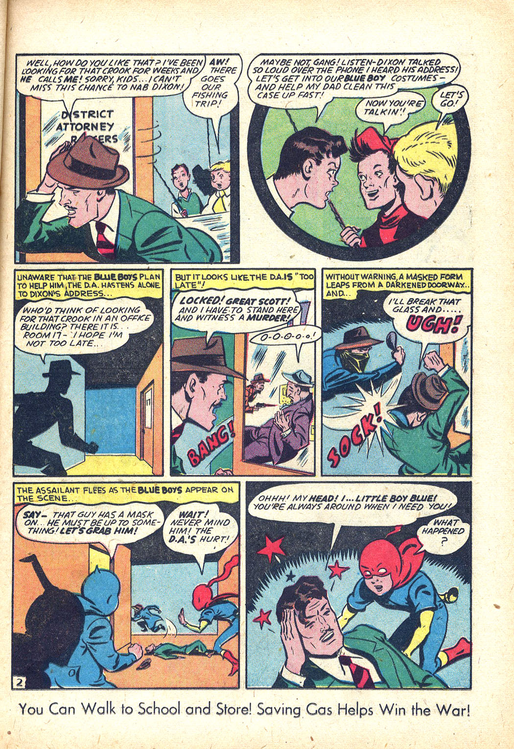 Read online Sensation (Mystery) Comics comic -  Issue #34 - 25