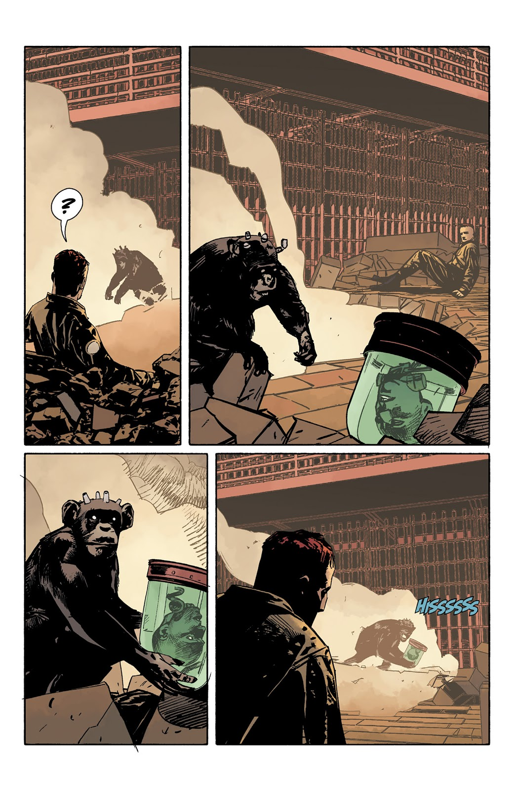 Read online Hellboy and the B.P.R.D. comic -  Issue # _TPB - 115
