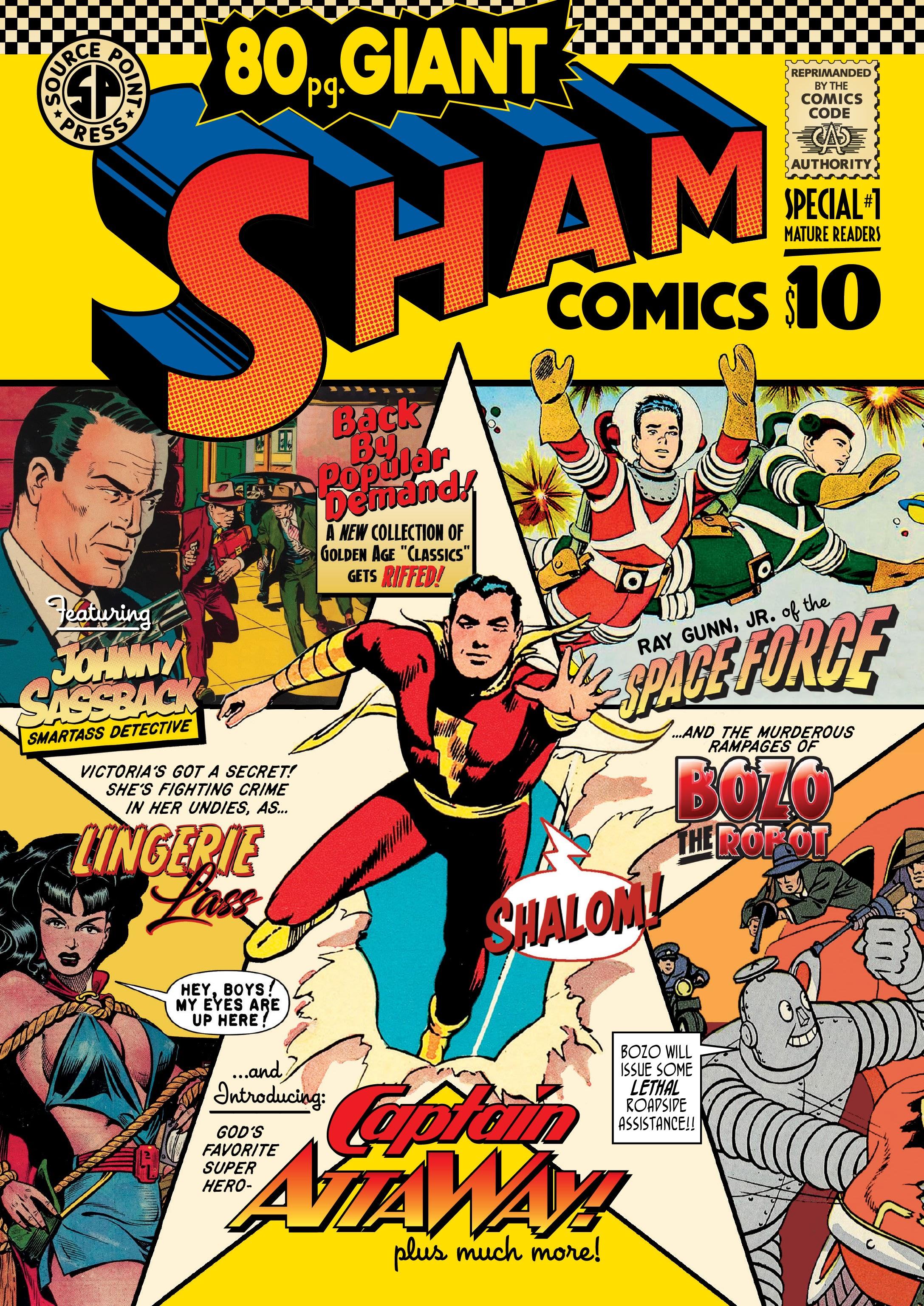 Sham Comics: 80-Page Giant TPB Page 1
