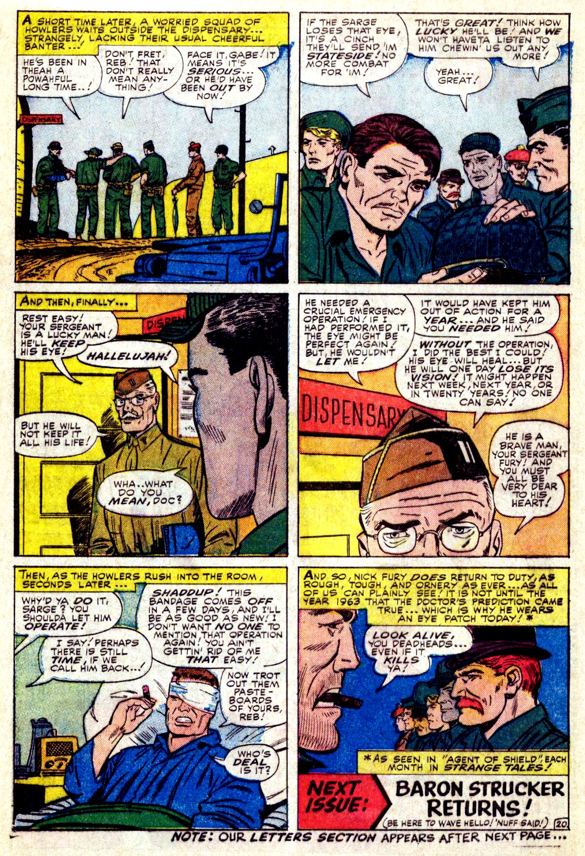 Read online Sgt. Fury comic -  Issue #27 - 28