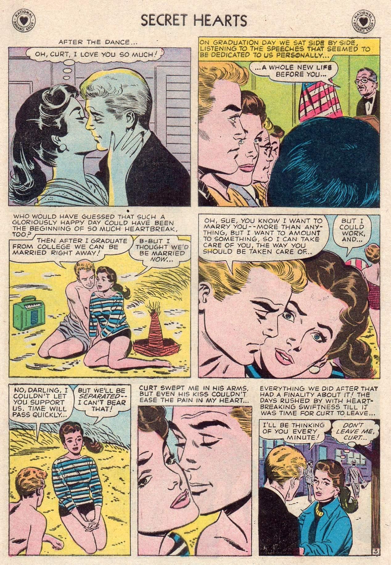 Read online Secret Hearts comic -  Issue #46 - 5