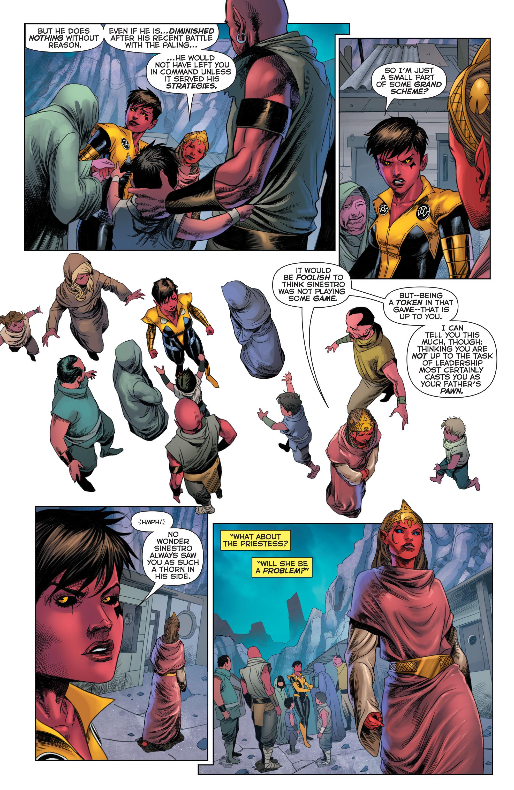 Read online Sinestro comic -  Issue #22 - 9