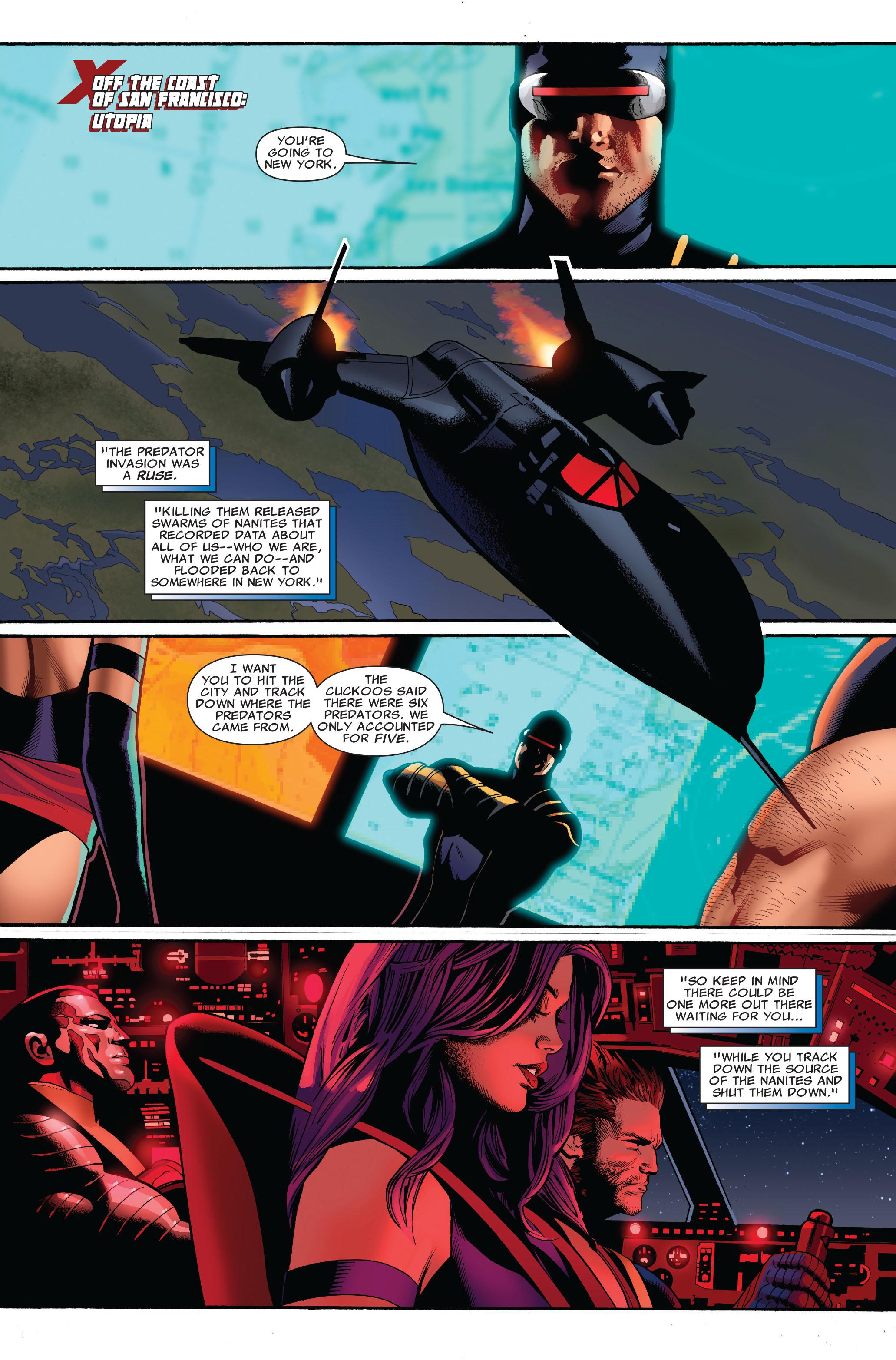 Read online Uncanny X-Men (1963) comic -  Issue #520 - 3