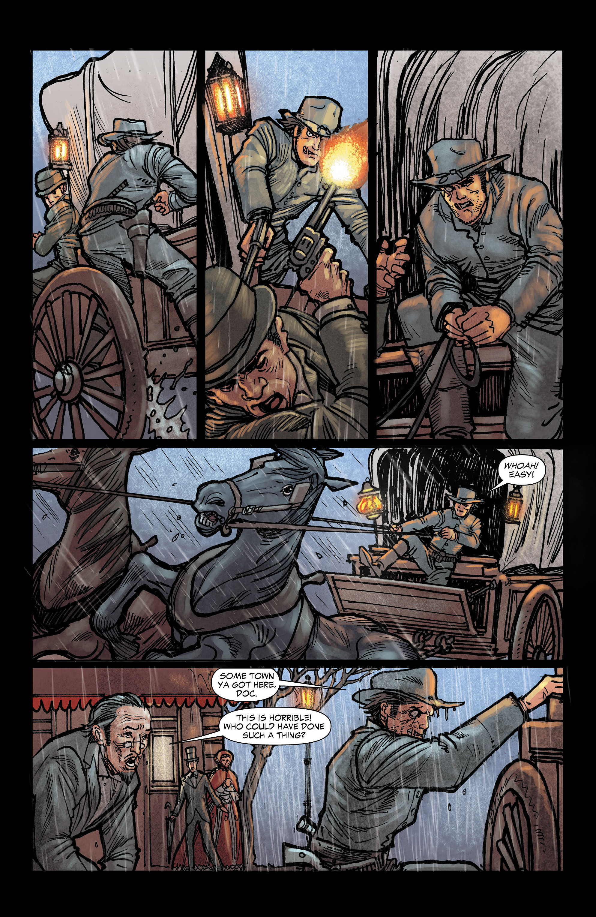 Read online All-Star Western (2011) comic -  Issue #3 - 11