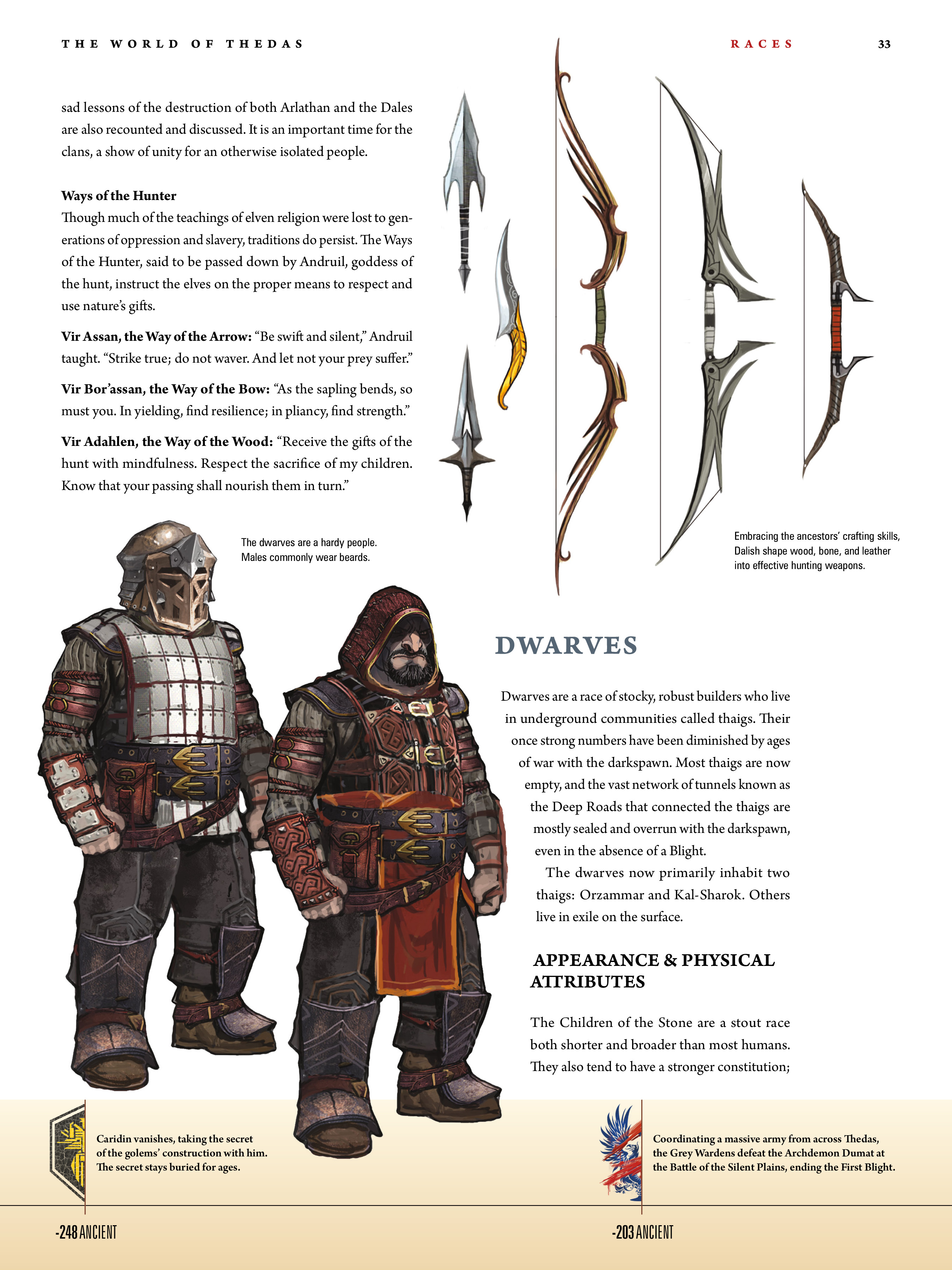 Read online Dragon Age: The World of Thedas comic -  Issue # TPB 1 - 26