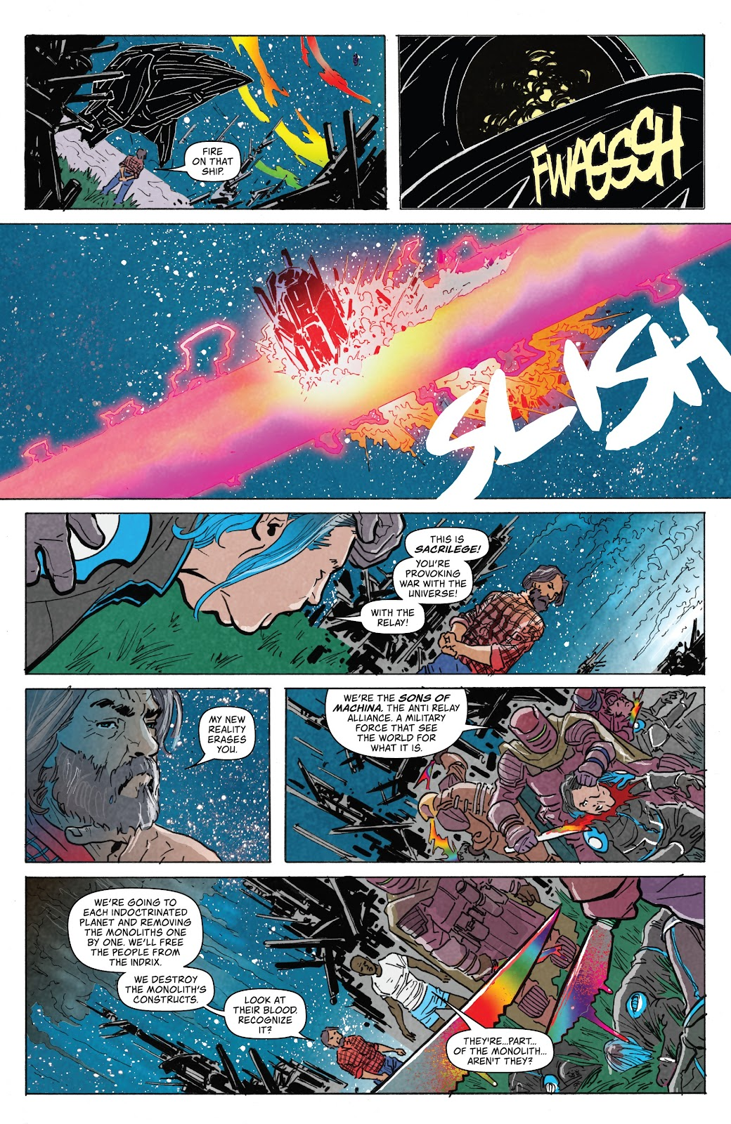 Read online Relay comic -  Issue #5 - 18