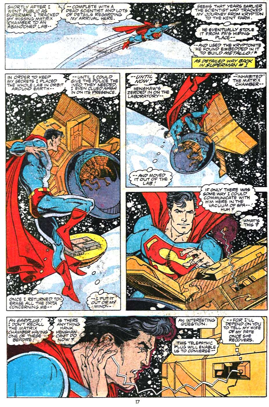 Read online Adventures of Superman (1987) comic -  Issue #468 - 18