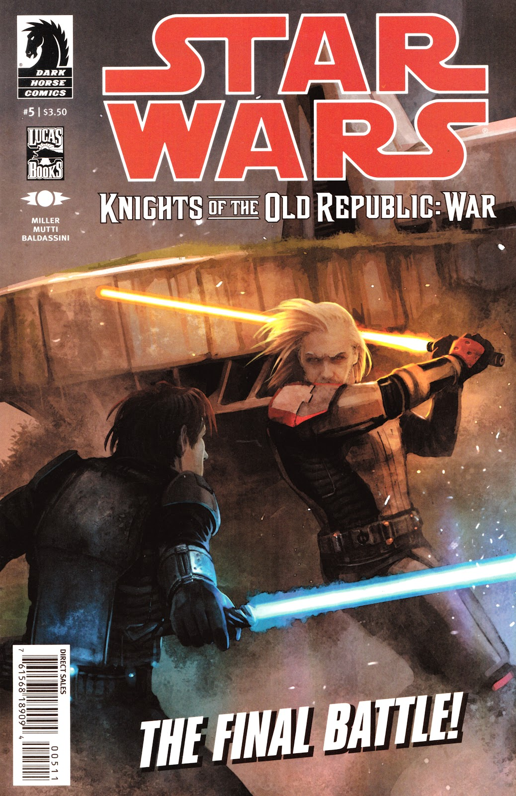 Star Wars: Knights Of The Old Republic - War 5 Page 1