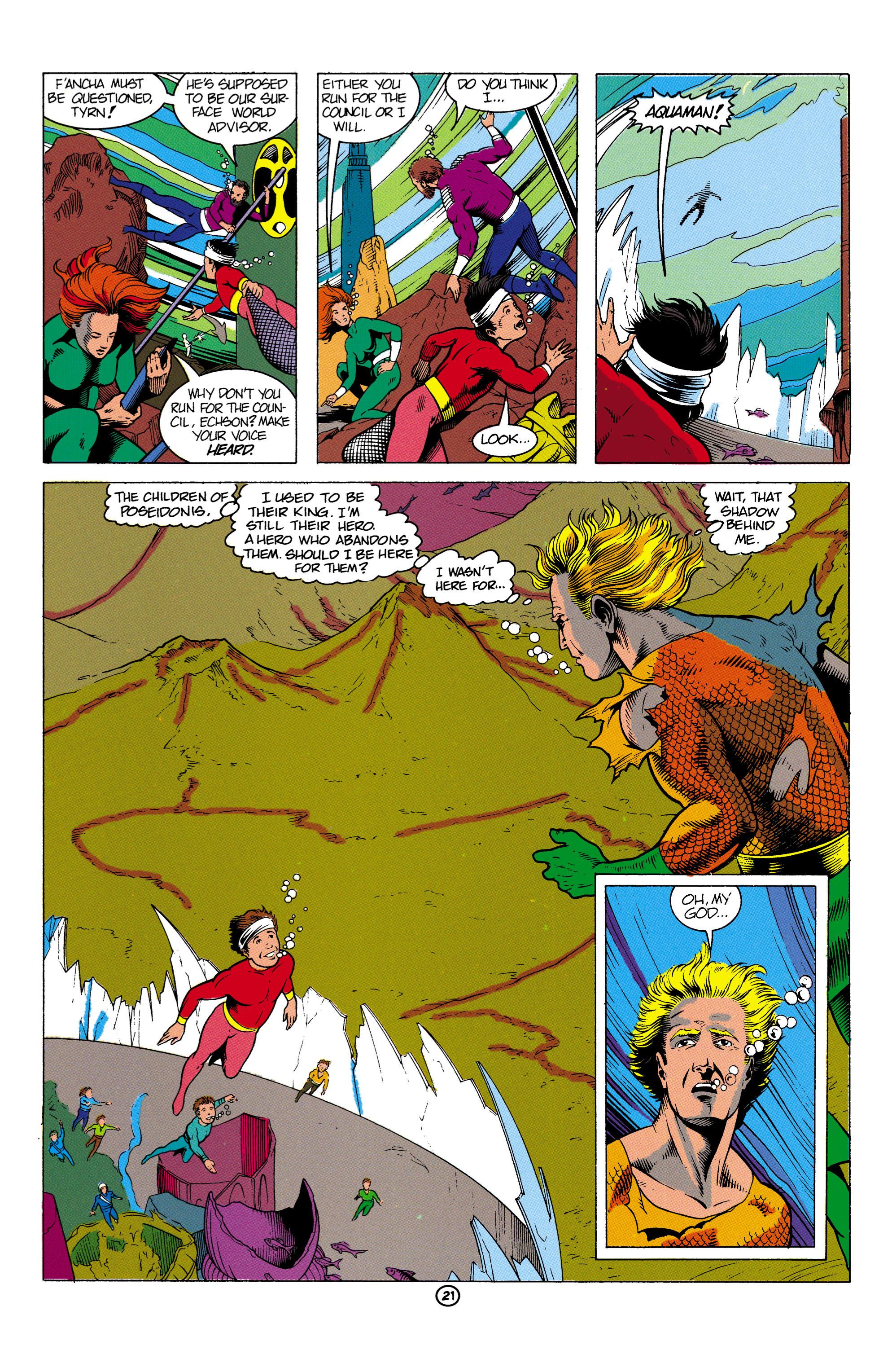 Read online Aquaman (1991) comic -  Issue #2 - 22