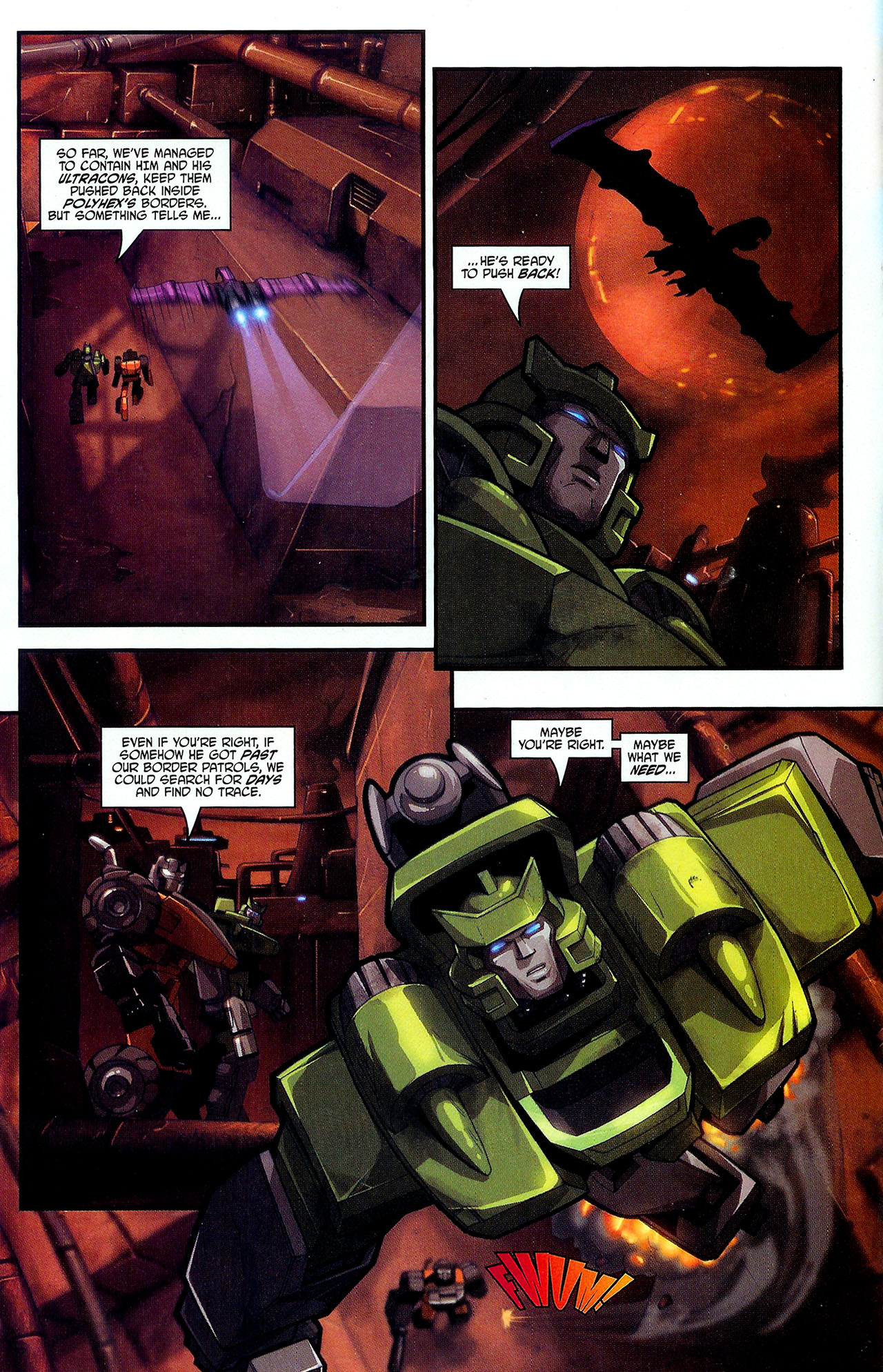 """Read online Transformers War Within: """"The Dark Ages"""" comic -  Issue #2 - 7"""