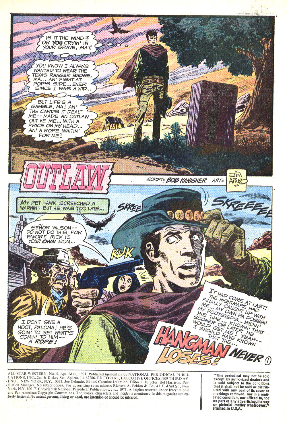 Read online All-Star Western (1970) comic -  Issue #5 - 3
