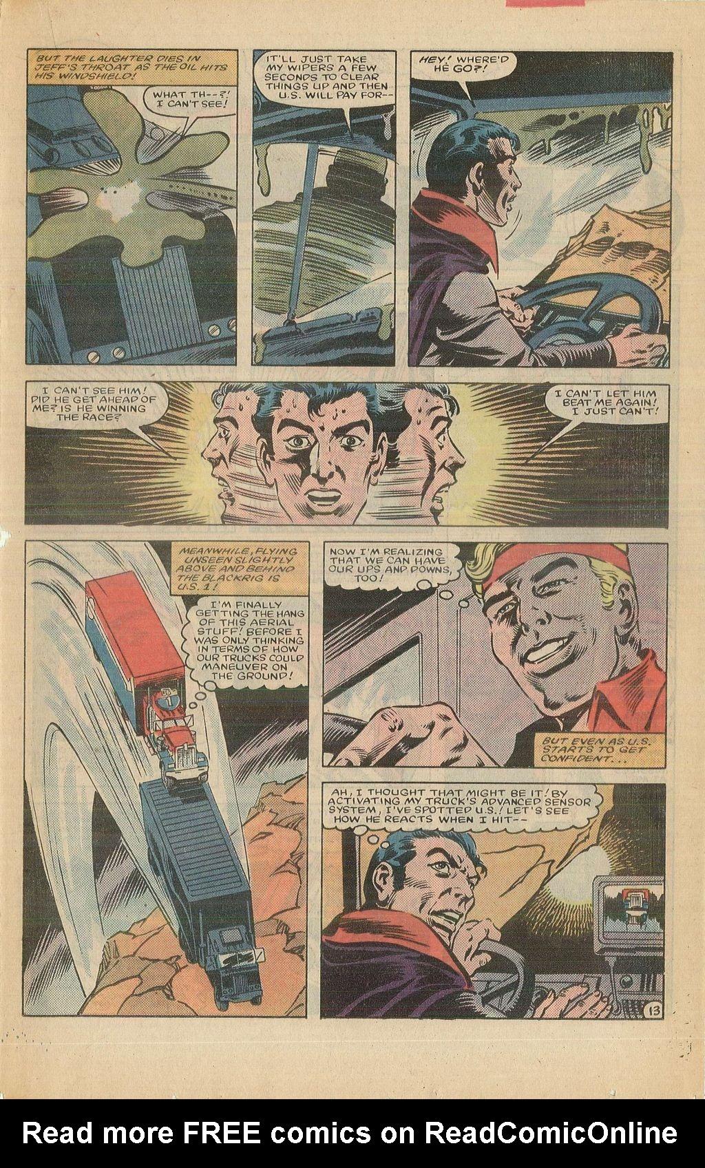Read online U.S. 1 comic -  Issue #12 - 19