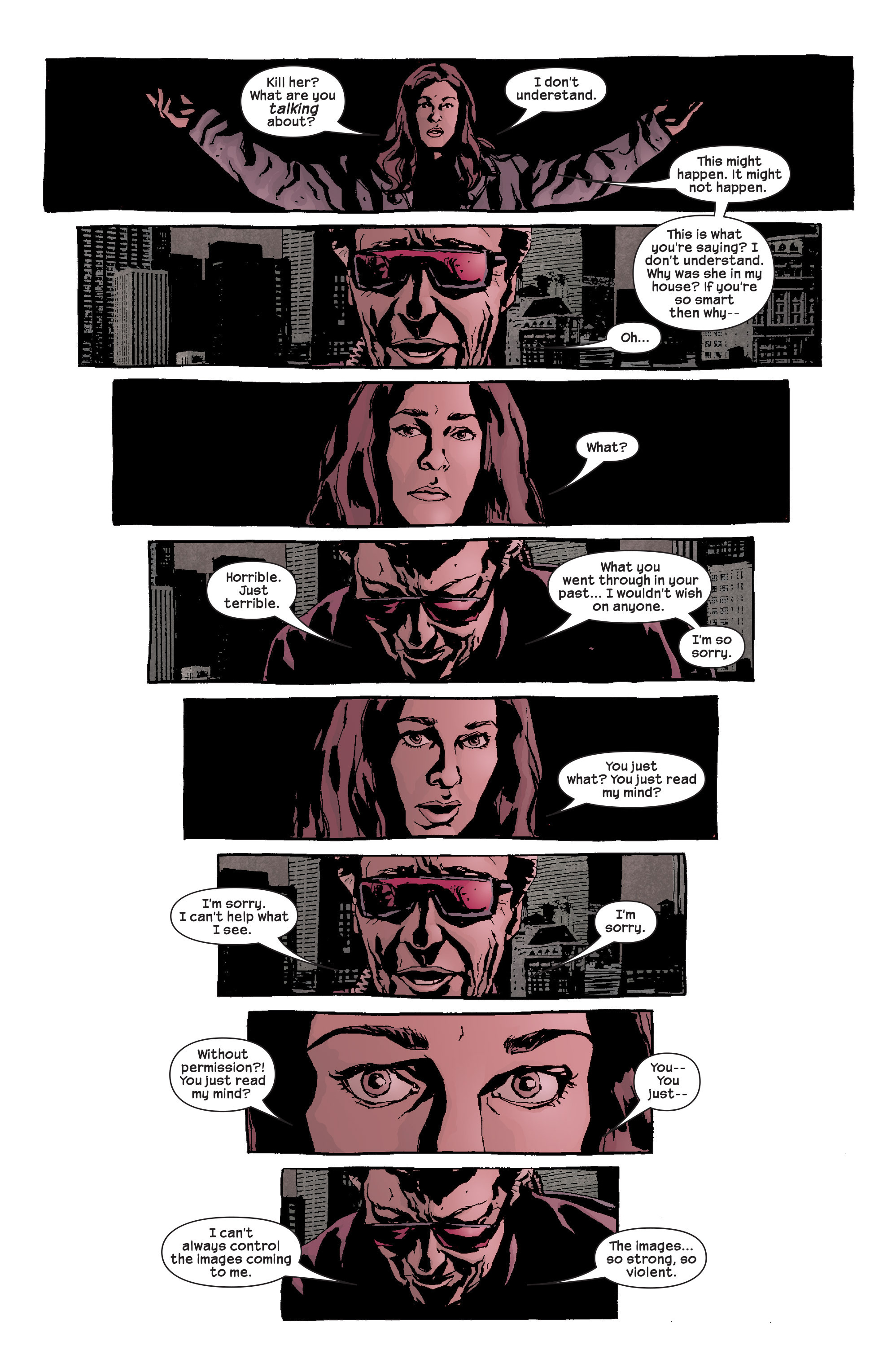 Read online Alias comic -  Issue #17 - 20