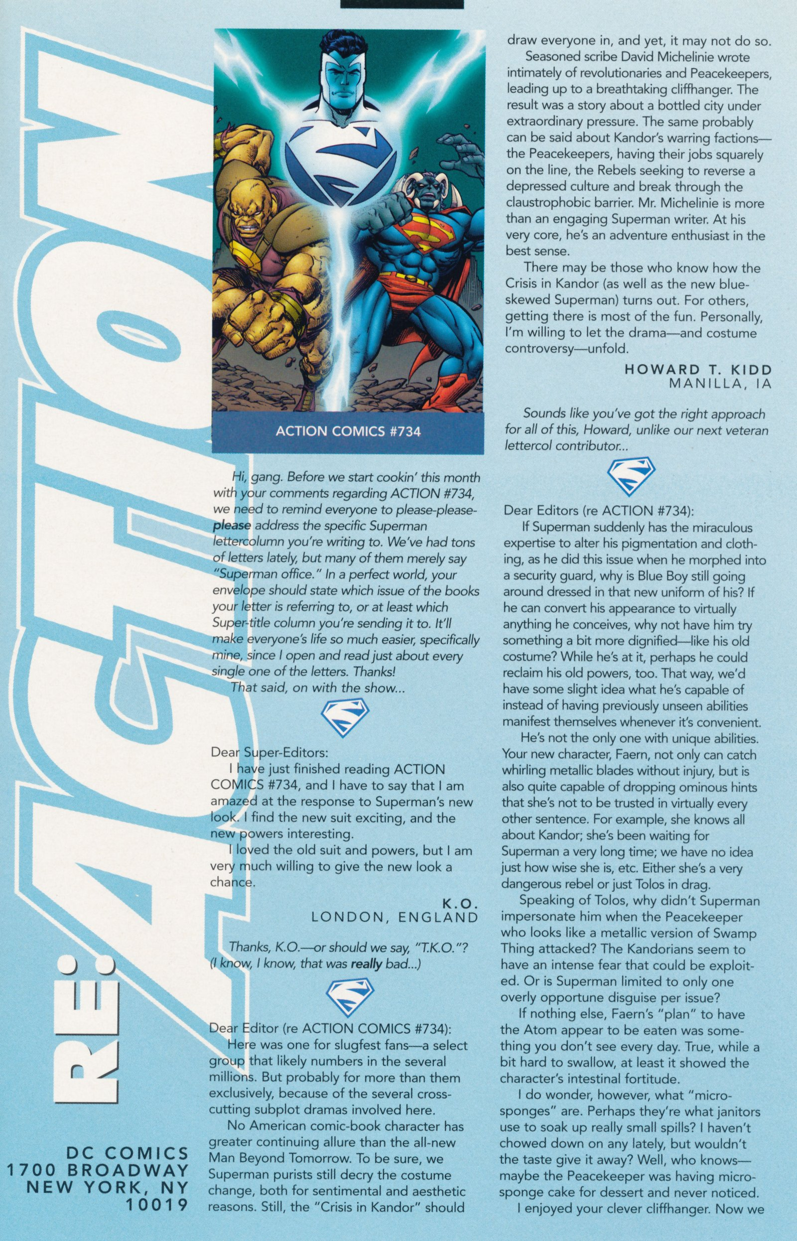 Read online Action Comics (1938) comic -  Issue #739 - 33