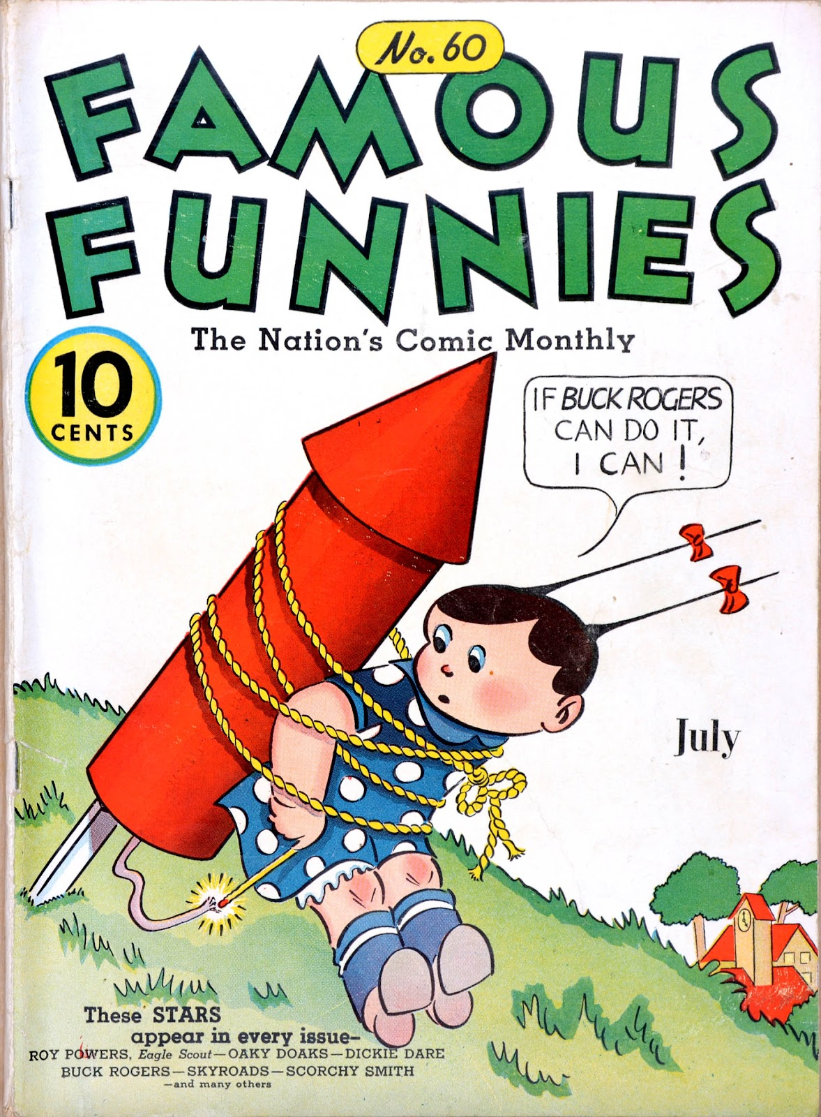 Read online Famous Funnies comic -  Issue #60 - 1