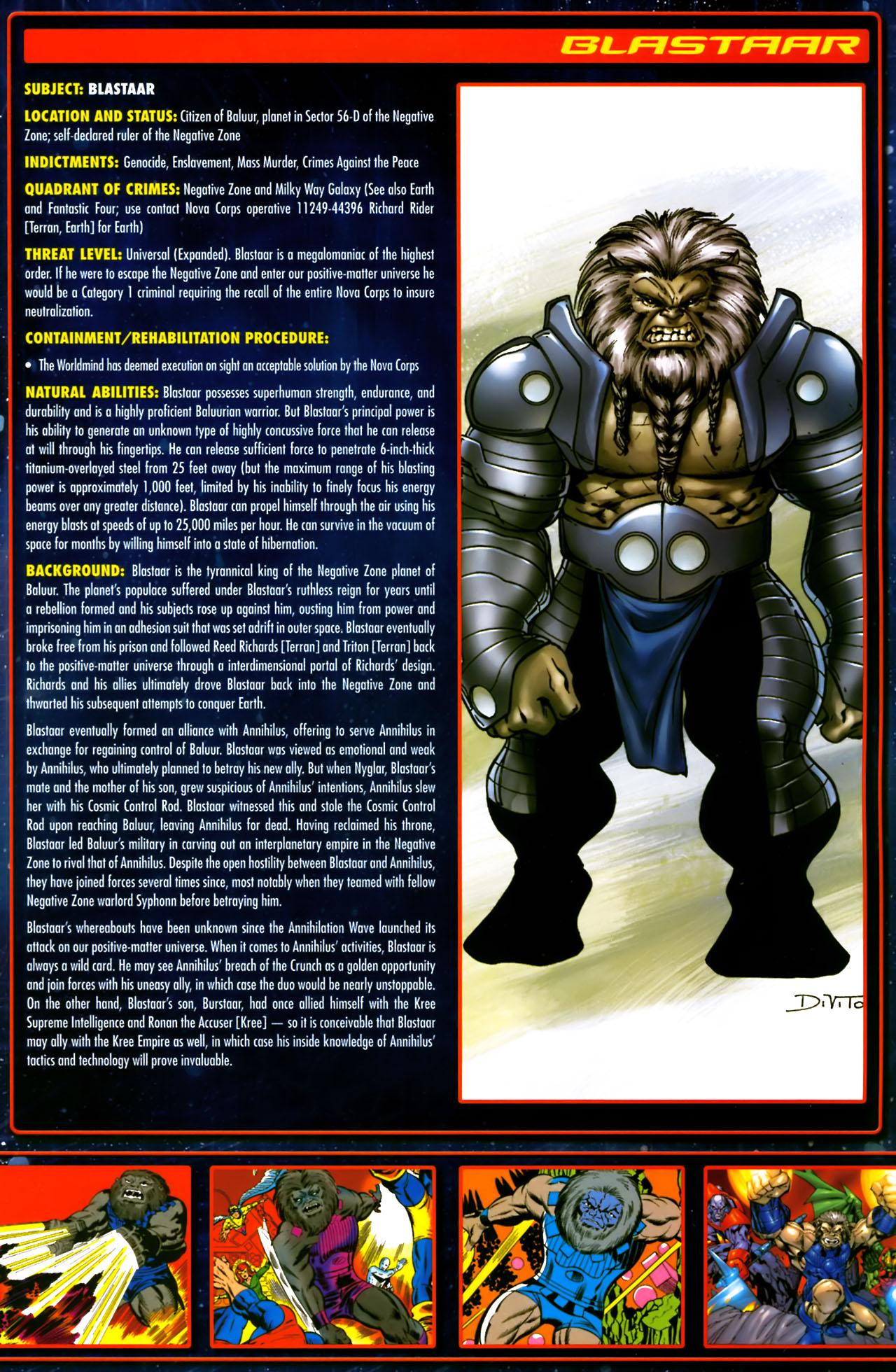 Read online Annihilation:  The  Nova Corps Files comic -  Issue #Annihilation:  The  Nova Corps Files Full - 7