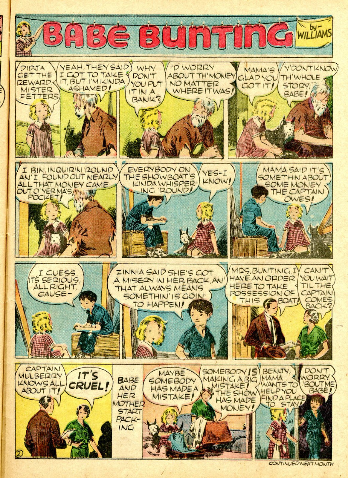 Read online Famous Funnies comic -  Issue #63 - 54