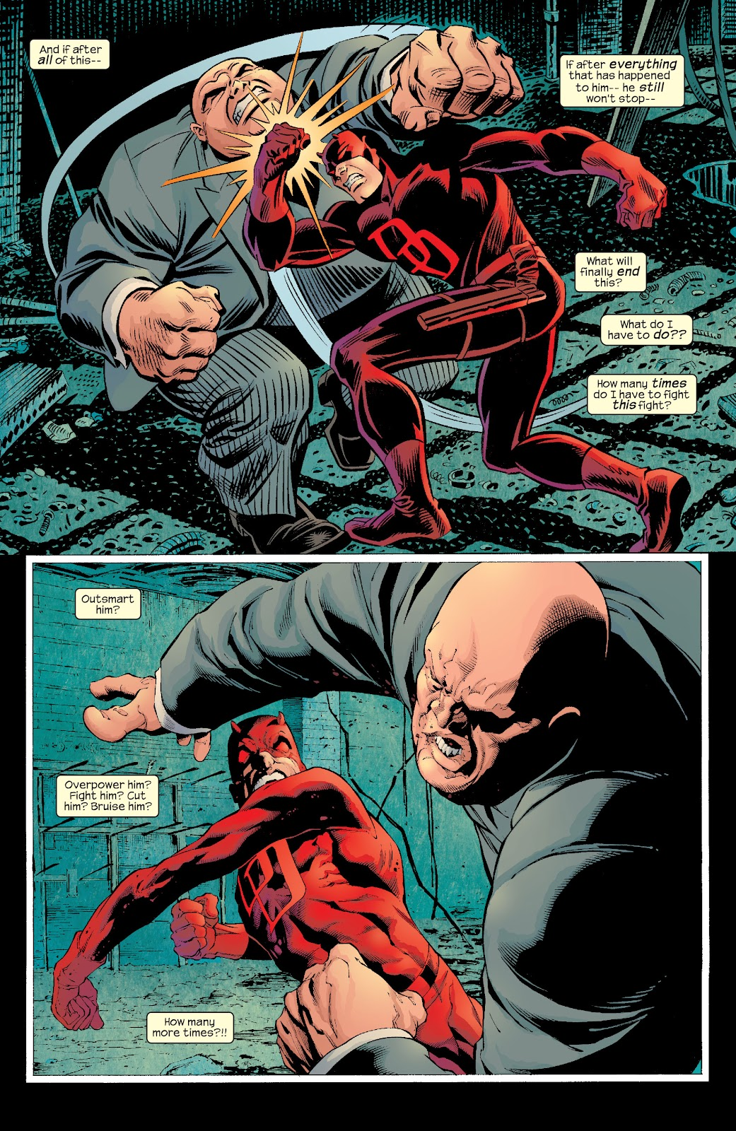 Read online Daredevil (1998) comic -  Issue # _Ultimate_Collection TPB 2 (Part 3) - 21