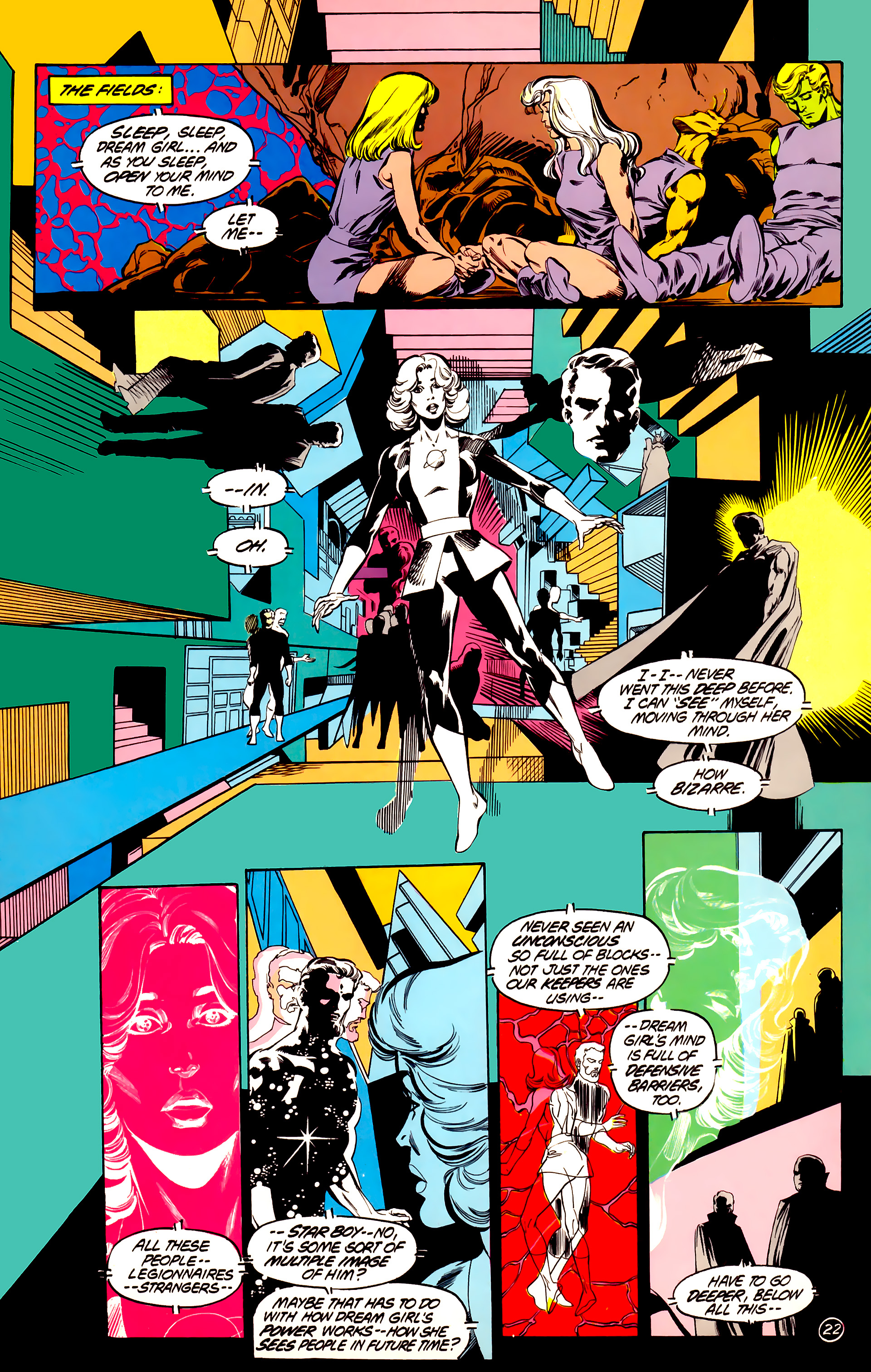 Legion of Super-Heroes (1984) 32 Page 21