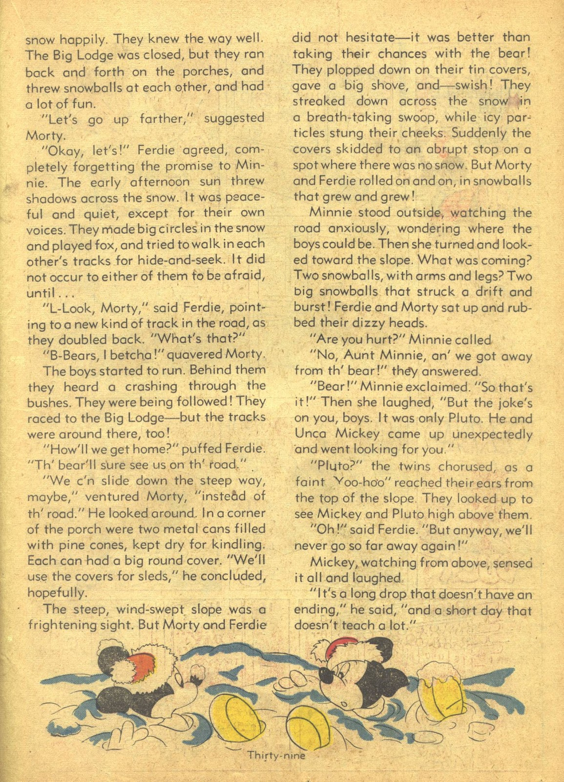 Walt Disney's Comics and Stories issue 41 - Page 41