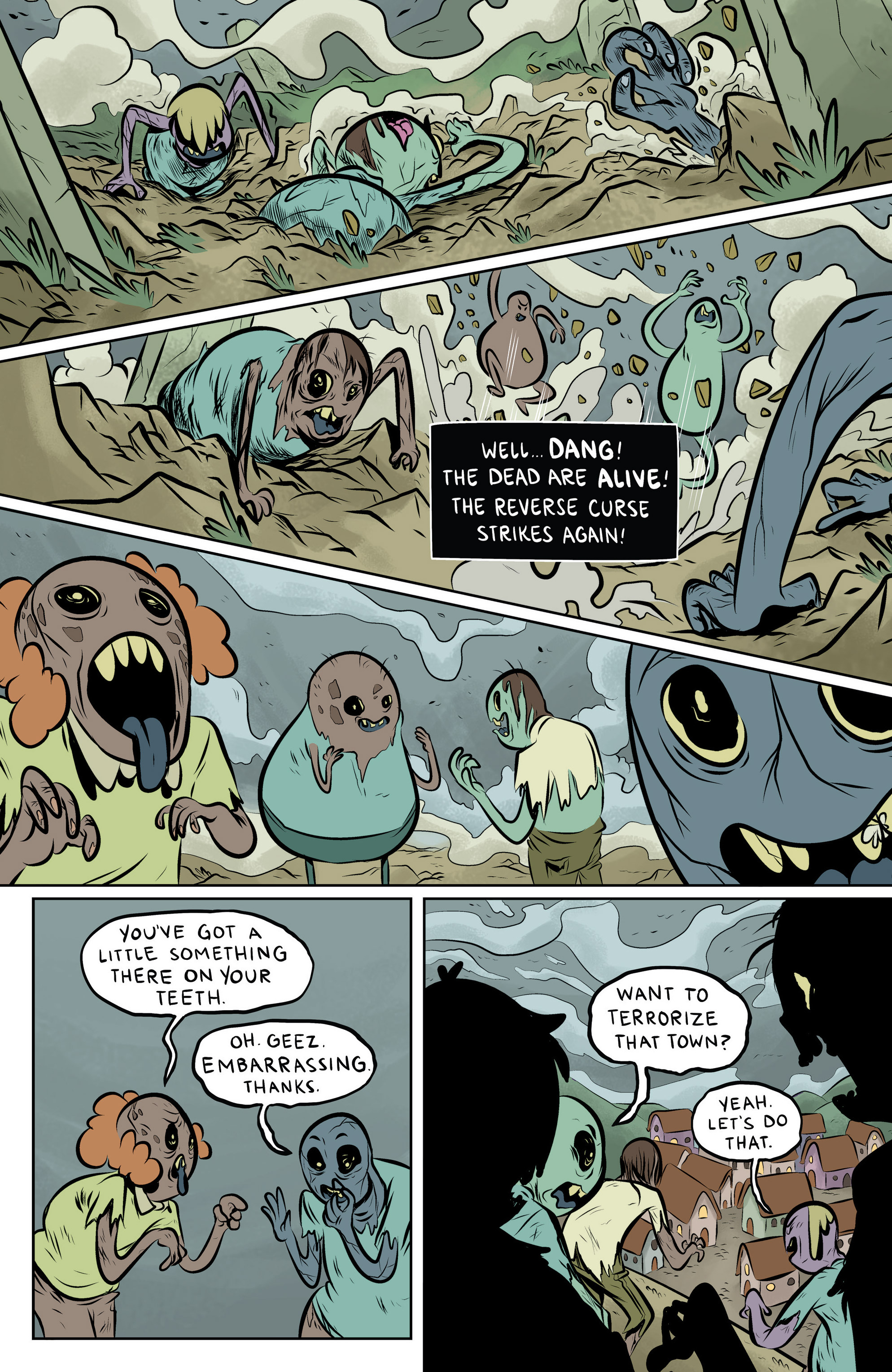 Read online Adventure Time: The Flip Side comic -  Issue #6 - 9