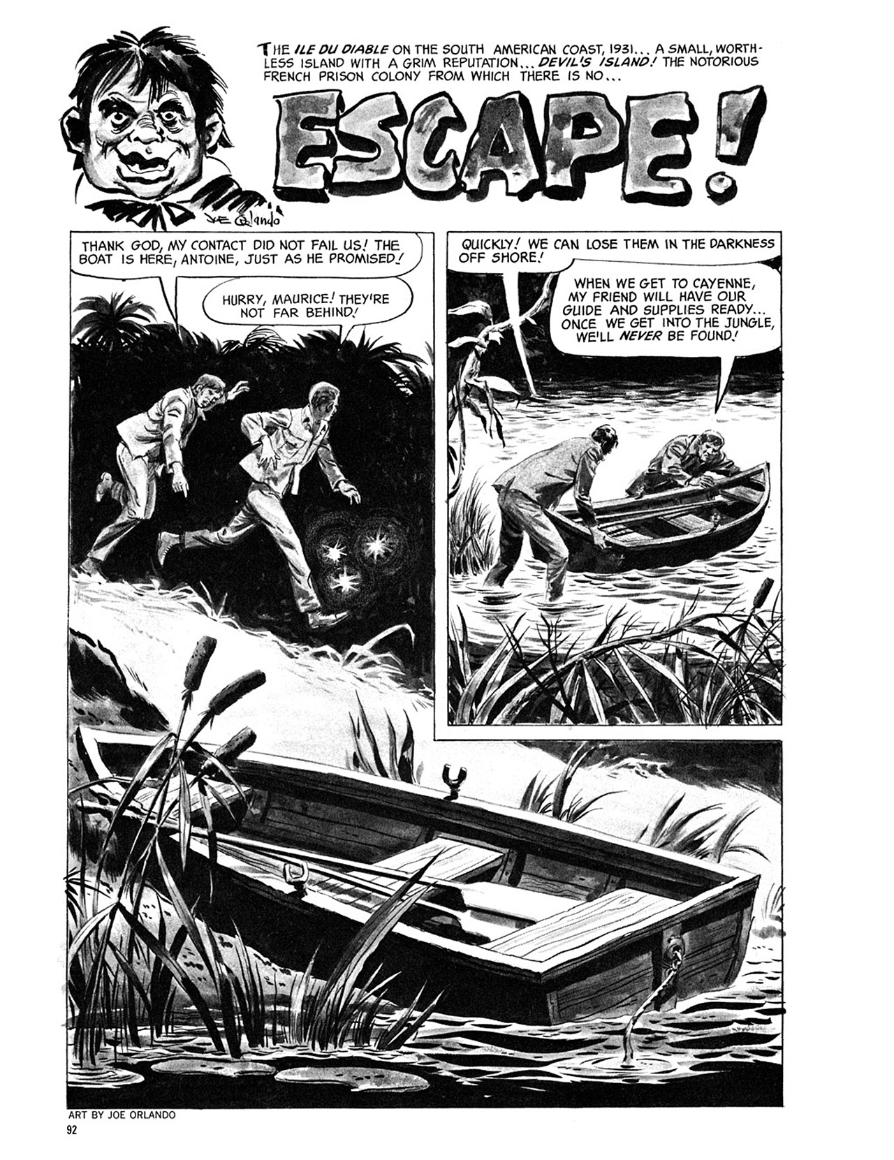 Read online Eerie Archives comic -  Issue # TPB 3 - 93