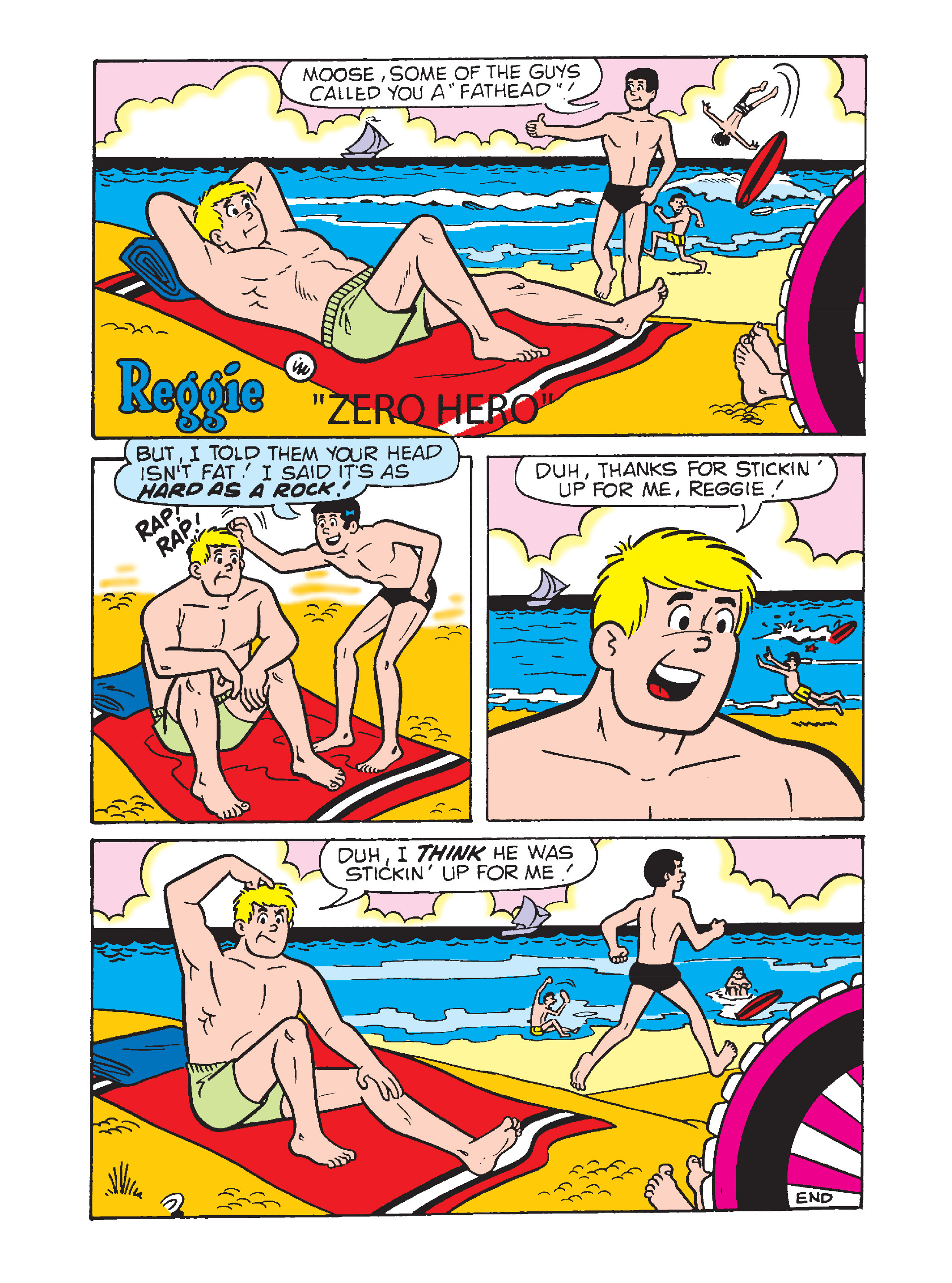 Read online Archie's Funhouse Double Digest comic -  Issue #7 - 145