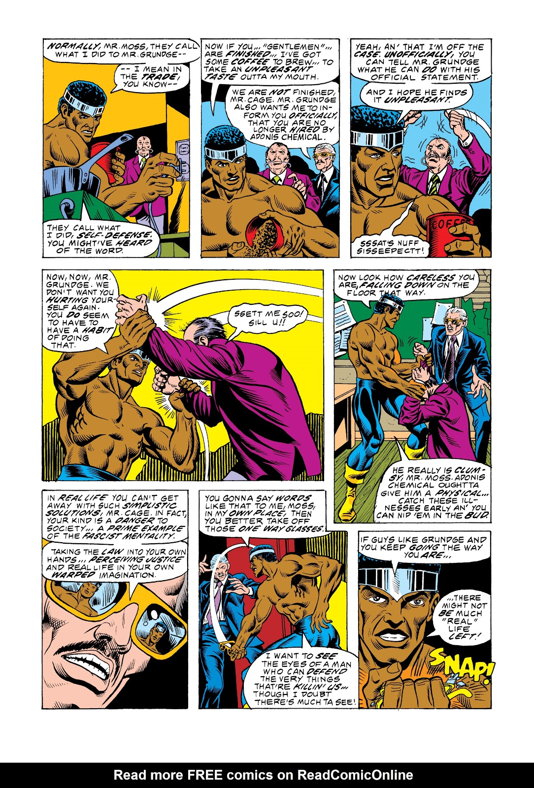 Read online Marvel Masterworks: Luke Cage, Power Man comic -  Issue # TPB 2 (Part 3) - 69