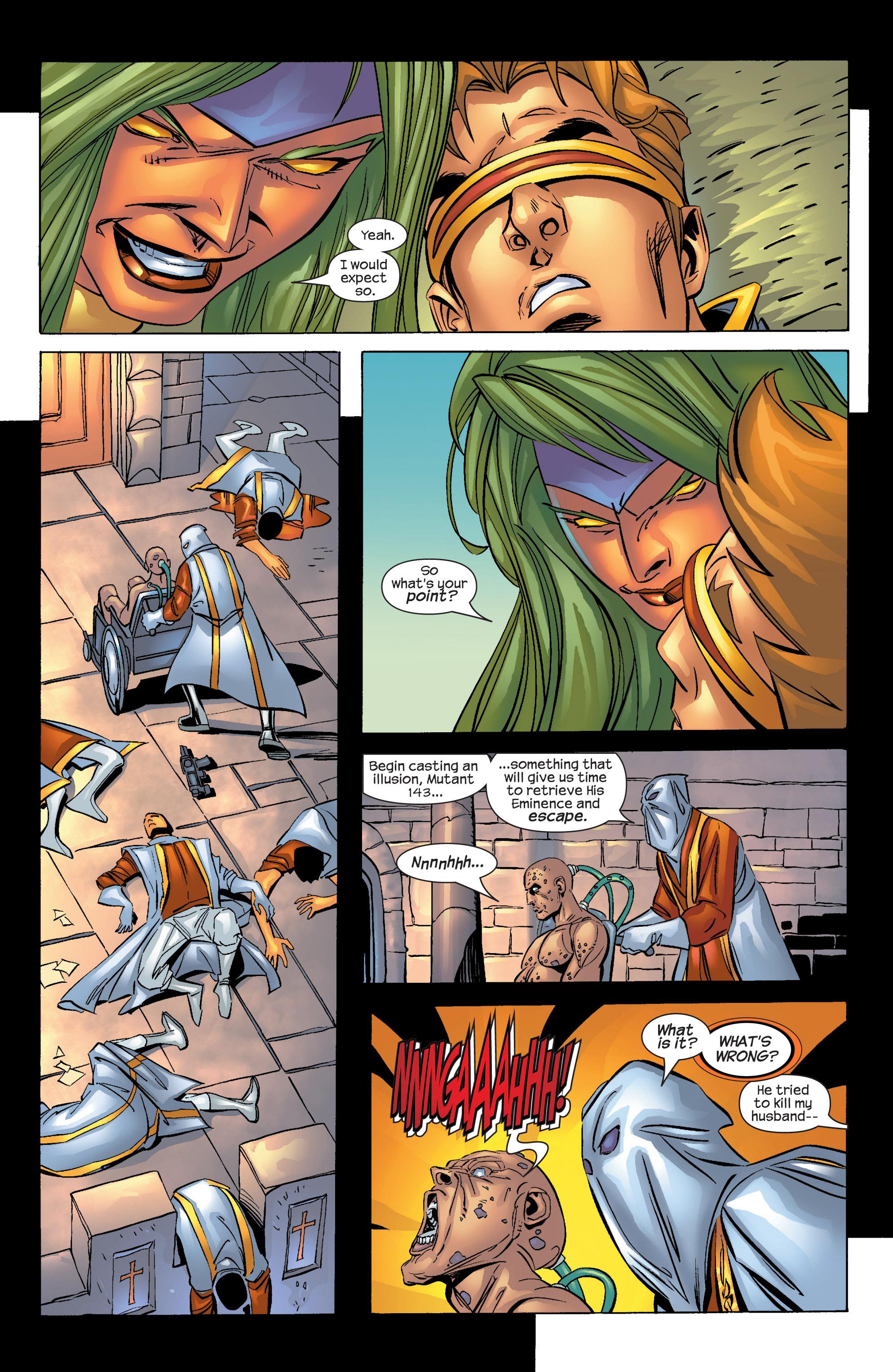 Read online Uncanny X-Men (1963) comic -  Issue #424 - 17