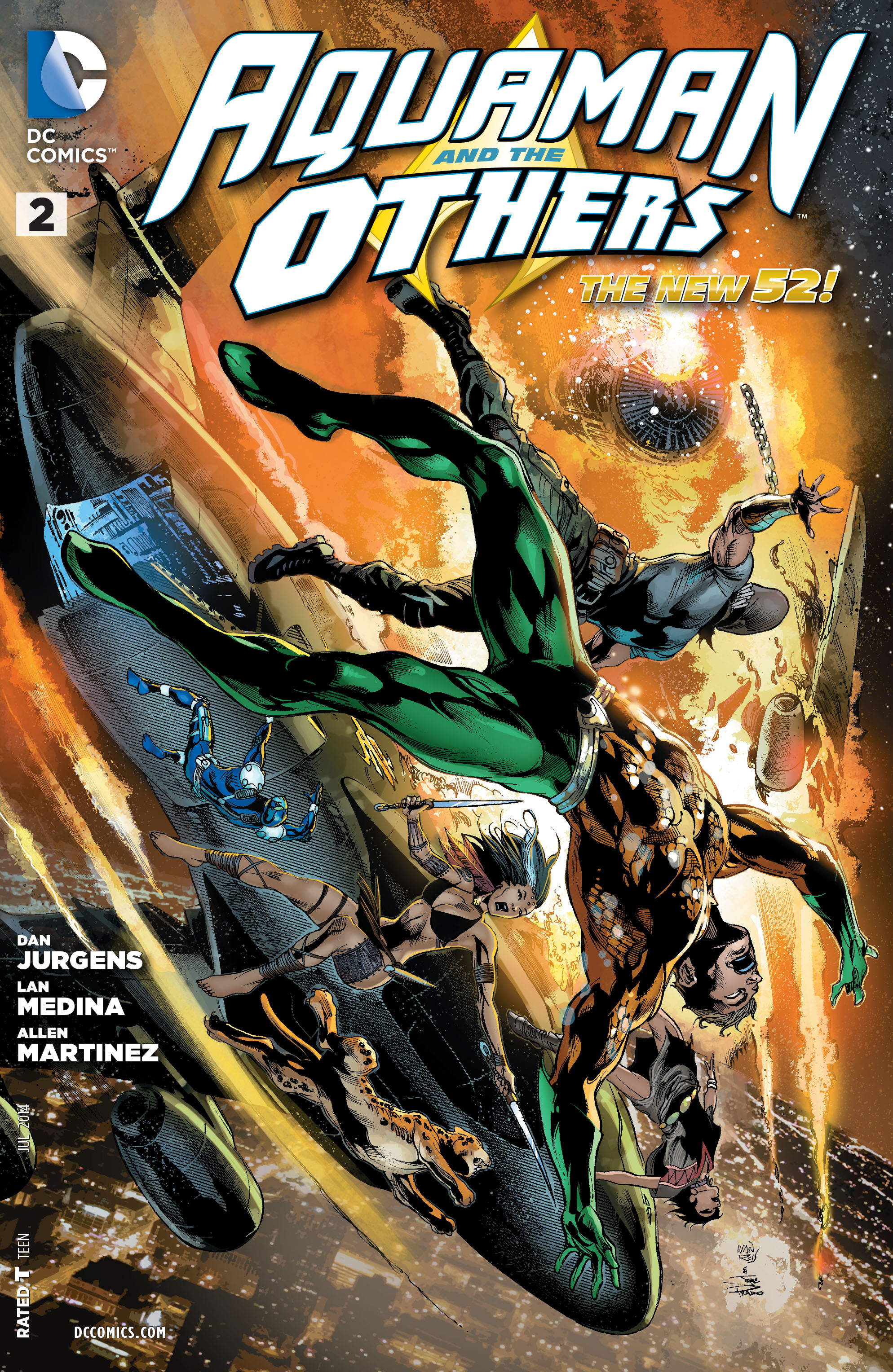 Read online Aquaman and the Others comic -  Issue #2 - 1